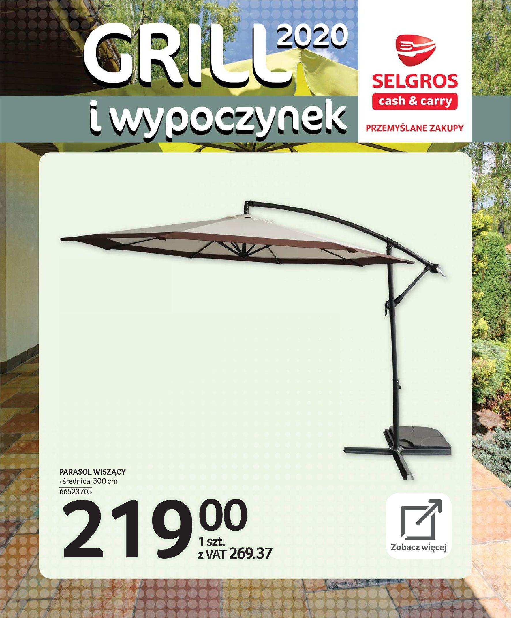 Gazetka Selgros - Katalog - Grill i wypoczynek-31.03.2020-31.08.2020-page-33