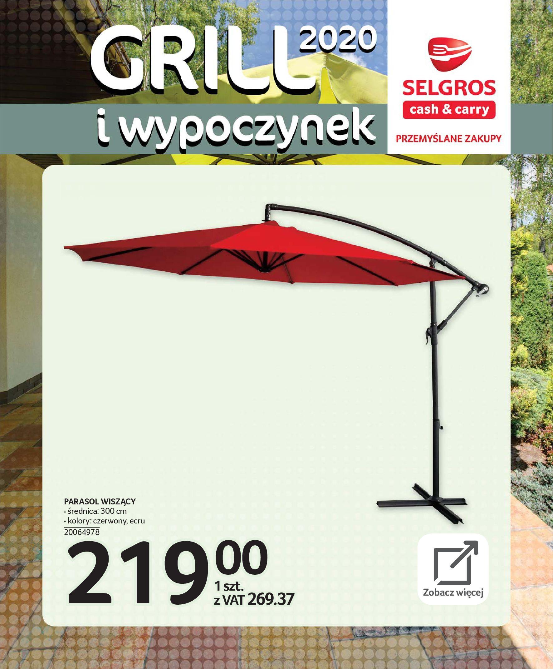 Gazetka Selgros - Katalog - Grill i wypoczynek-31.03.2020-31.08.2020-page-34