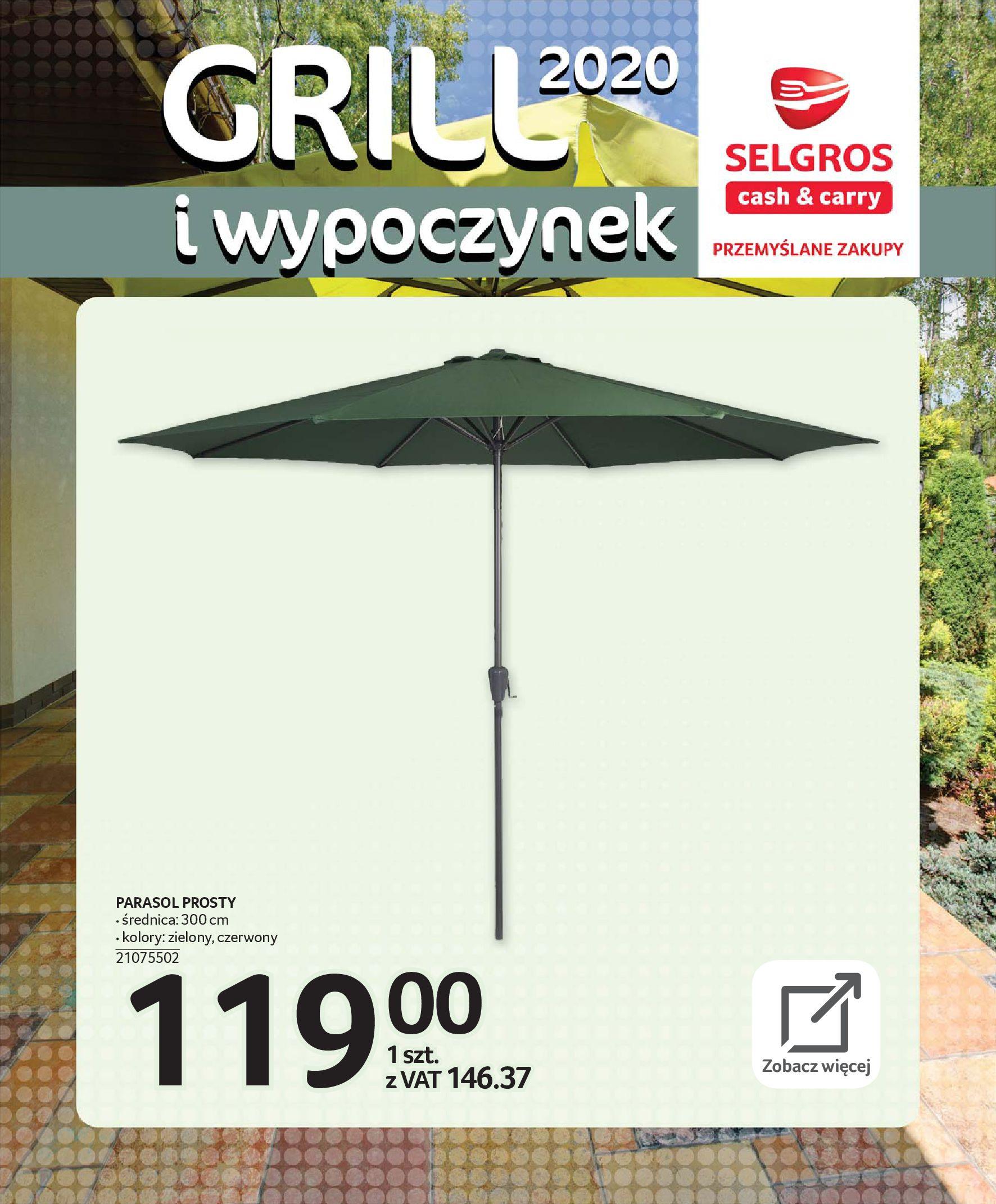 Gazetka Selgros - Katalog - Grill i wypoczynek-31.03.2020-31.08.2020-page-35
