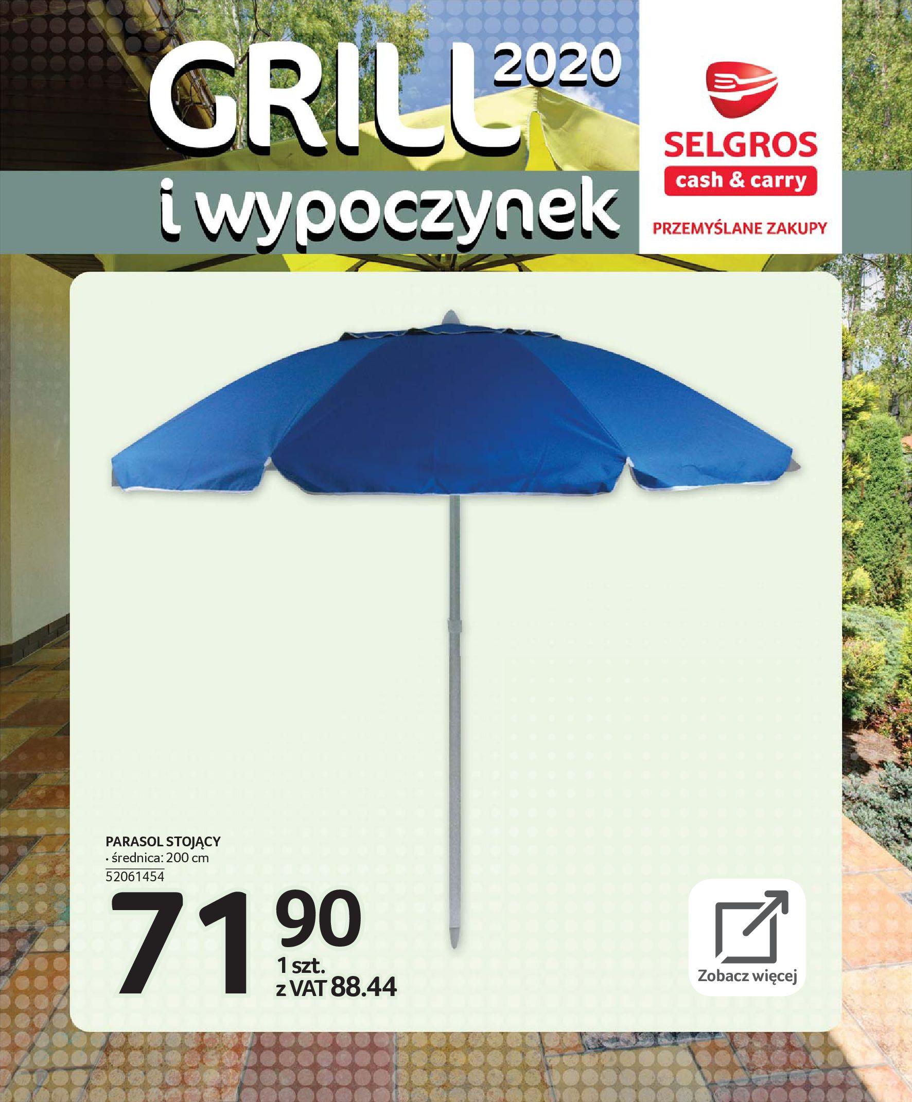 Gazetka Selgros - Katalog - Grill i wypoczynek-31.03.2020-31.08.2020-page-36