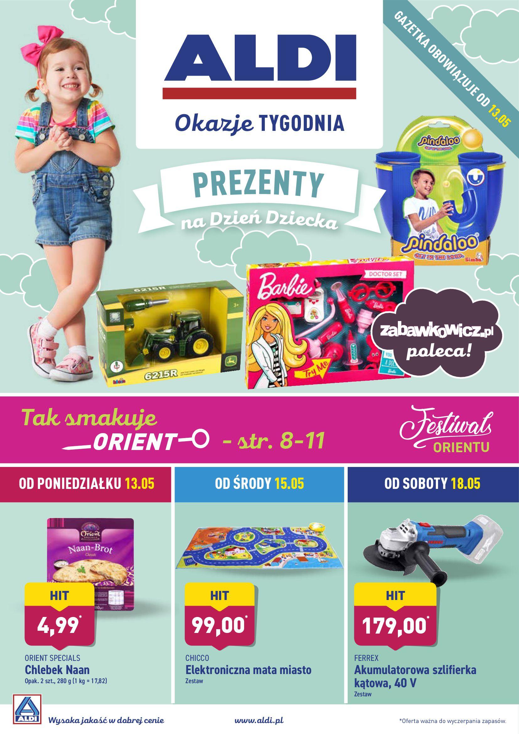Gazetka Aldi - Prezenty na Dzień Dziecka-12.05.2019-18.05.2019-page-