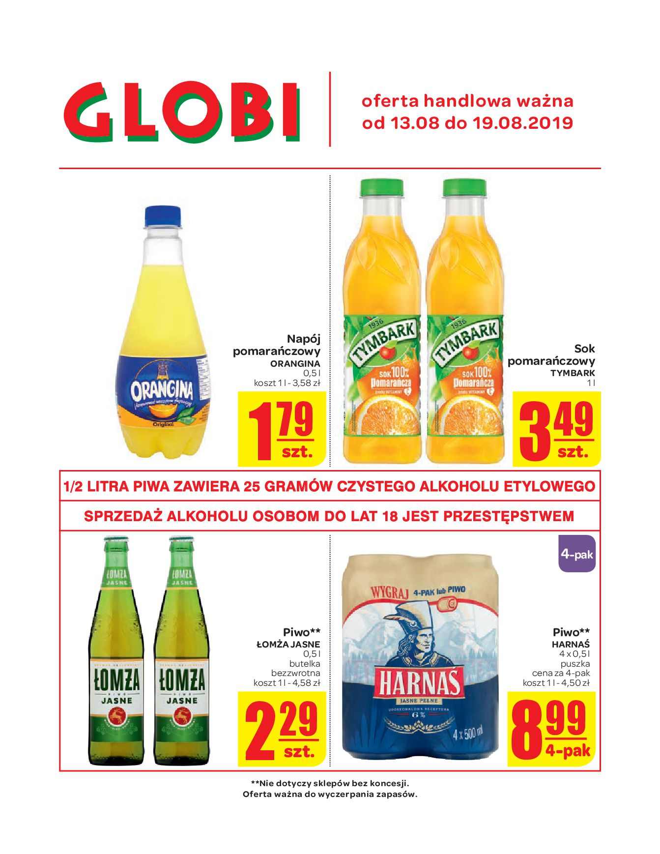 Gazetka Globi - Oferta handlowa-12.08.2019-19.08.2019-page-