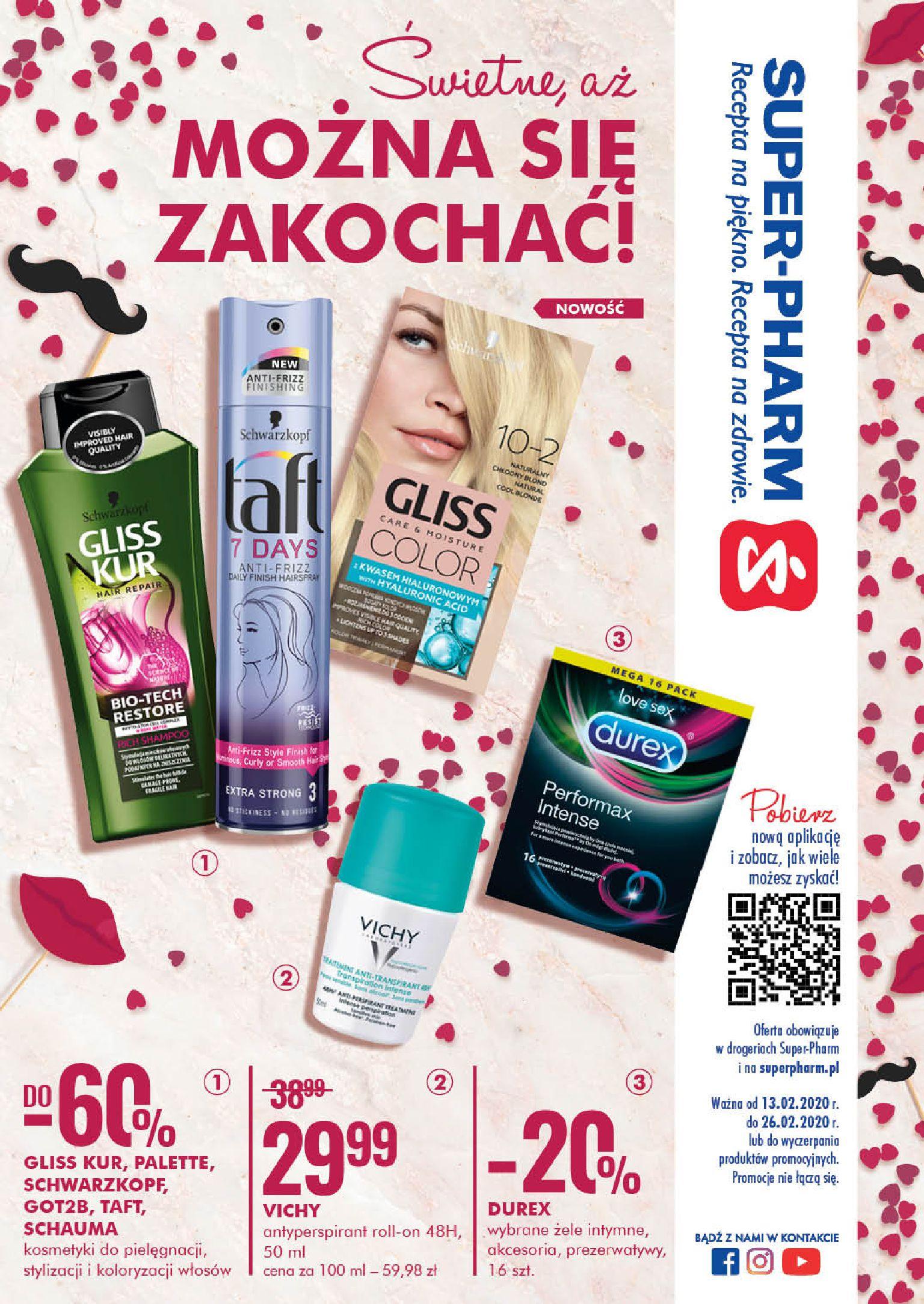 Gazetka Super-Pharm - Świetnie, aż MOŻNA SIĘ ZAKOCHAĆ-12.02.2020-26.02.2020-page-1