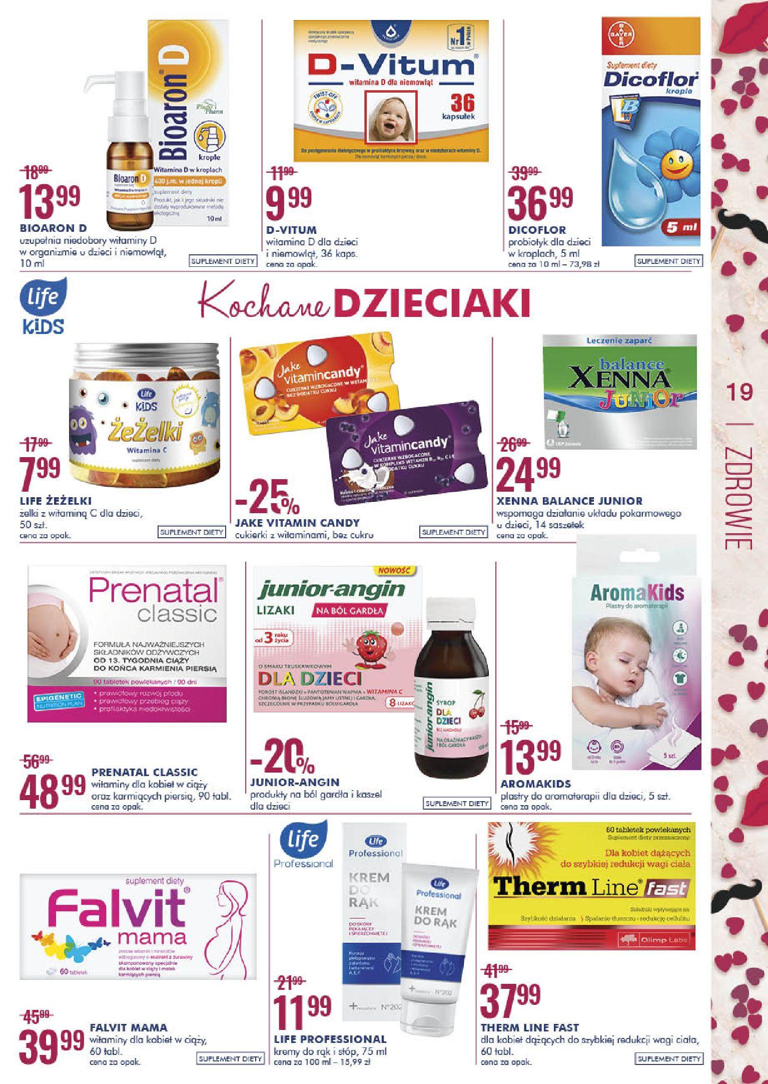 Gazetka Super-Pharm - Świetnie, aż MOŻNA SIĘ ZAKOCHAĆ-12.02.2020-26.02.2020-page-19
