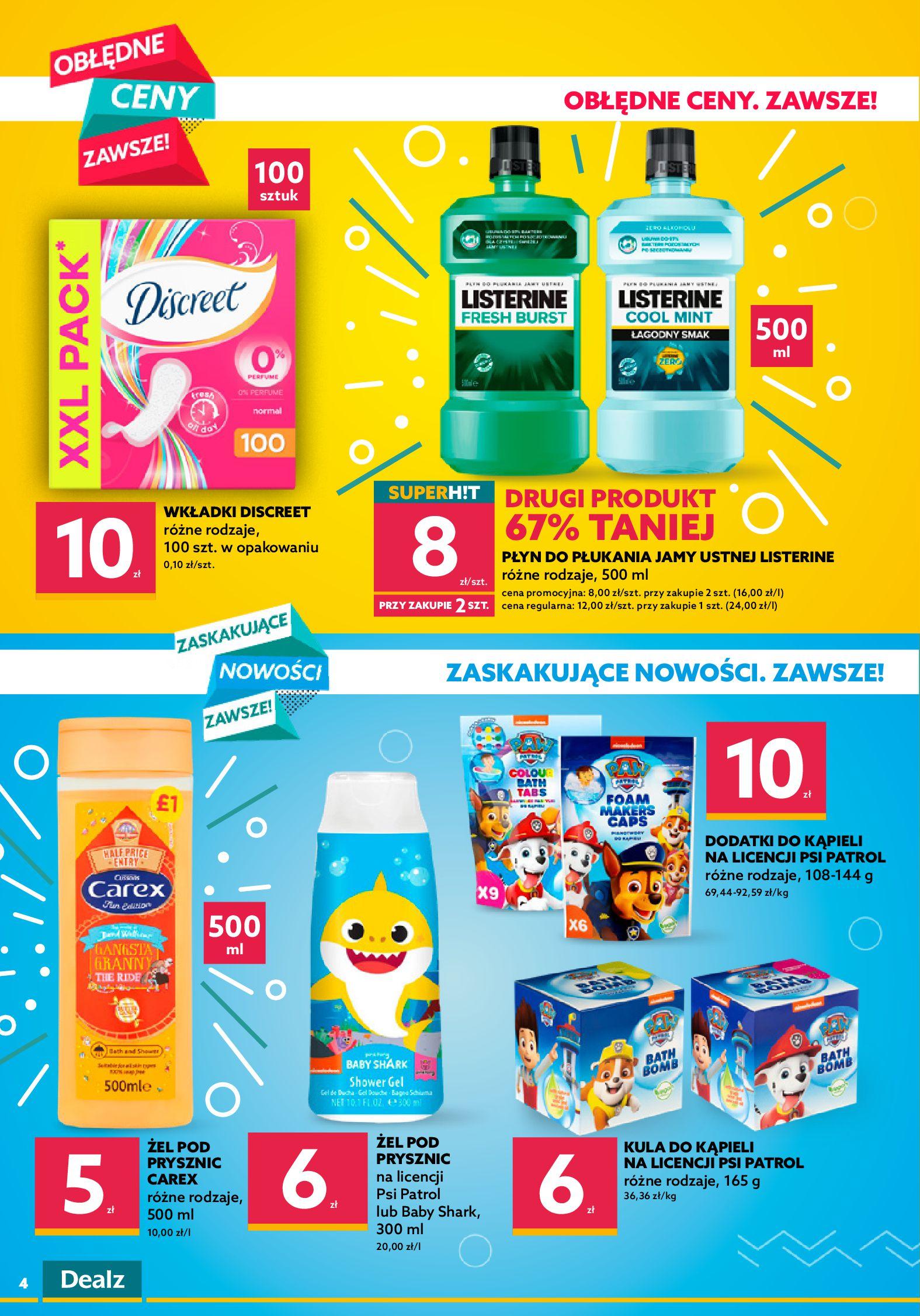 Gazetka Dealz : Gazetka Dealz - 20-26.09 2021-09-20 page-4