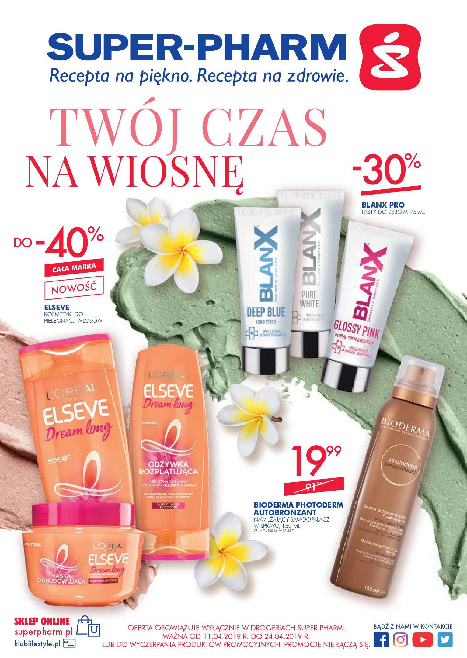 Gazetka Super-Pharm - TWÓJ CZAS NA WIOSNĘ-10.04.2019-24.04.2019-page-