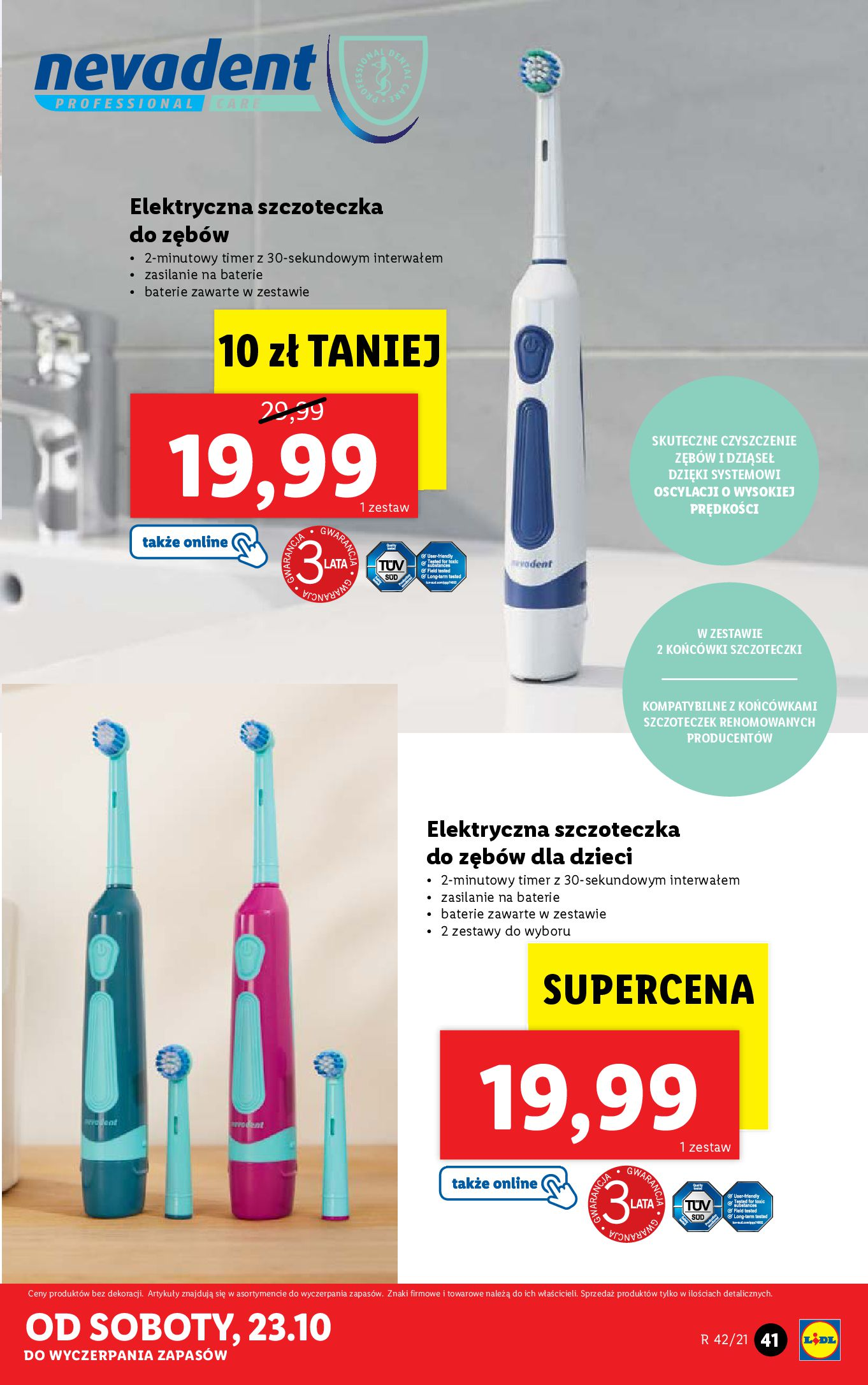Gazetka Lidl: Gazetka Lidl - katalog 18-24.10. 2021-10-18 page-41