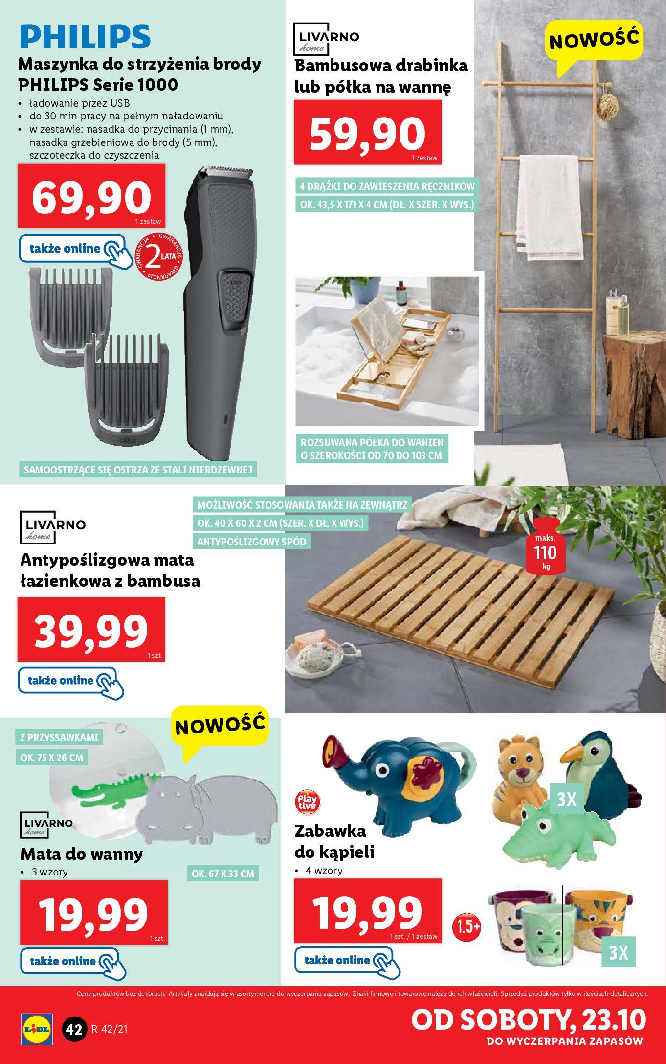Gazetka Lidl: Gazetka Lidl - katalog 18-24.10. 2021-10-18 page-42