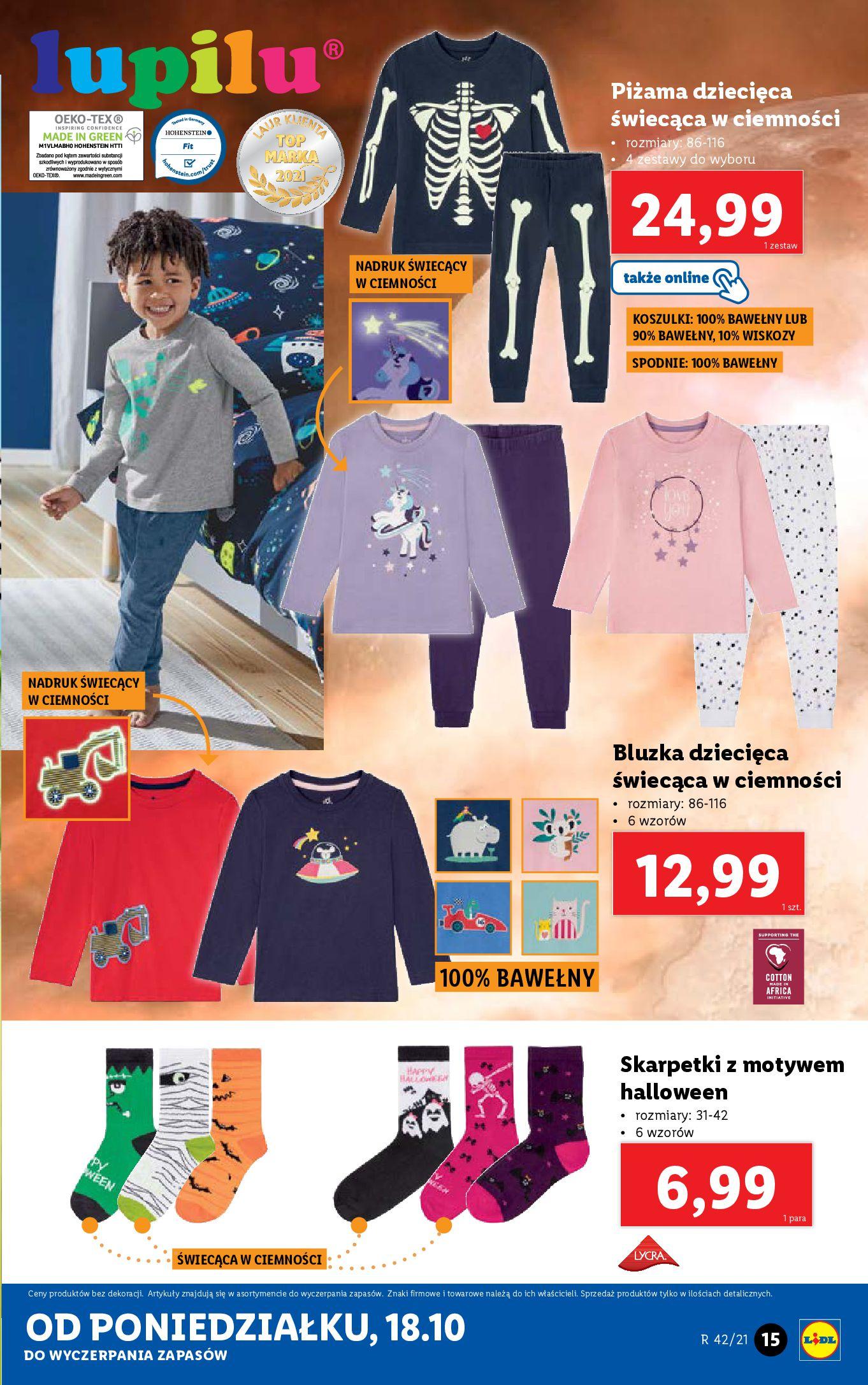 Gazetka Lidl: Gazetka Lidl - katalog 18-24.10. 2021-10-18 page-15
