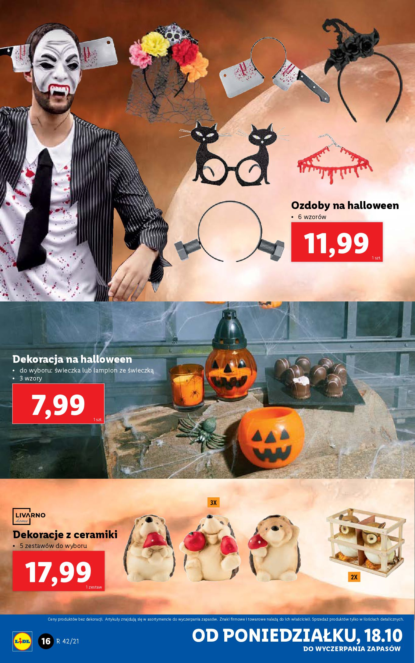 Gazetka Lidl: Gazetka Lidl - katalog 18-24.10. 2021-10-18 page-16