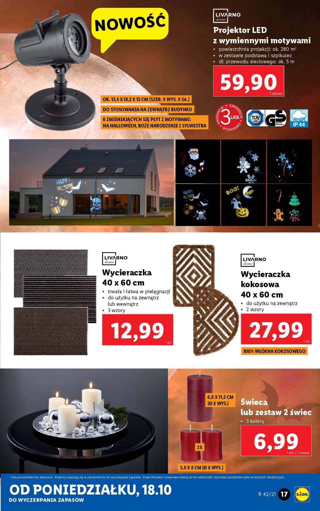 Gazetka Lidl: Gazetka Lidl - katalog 18-24.10. 2021-10-18 page-17
