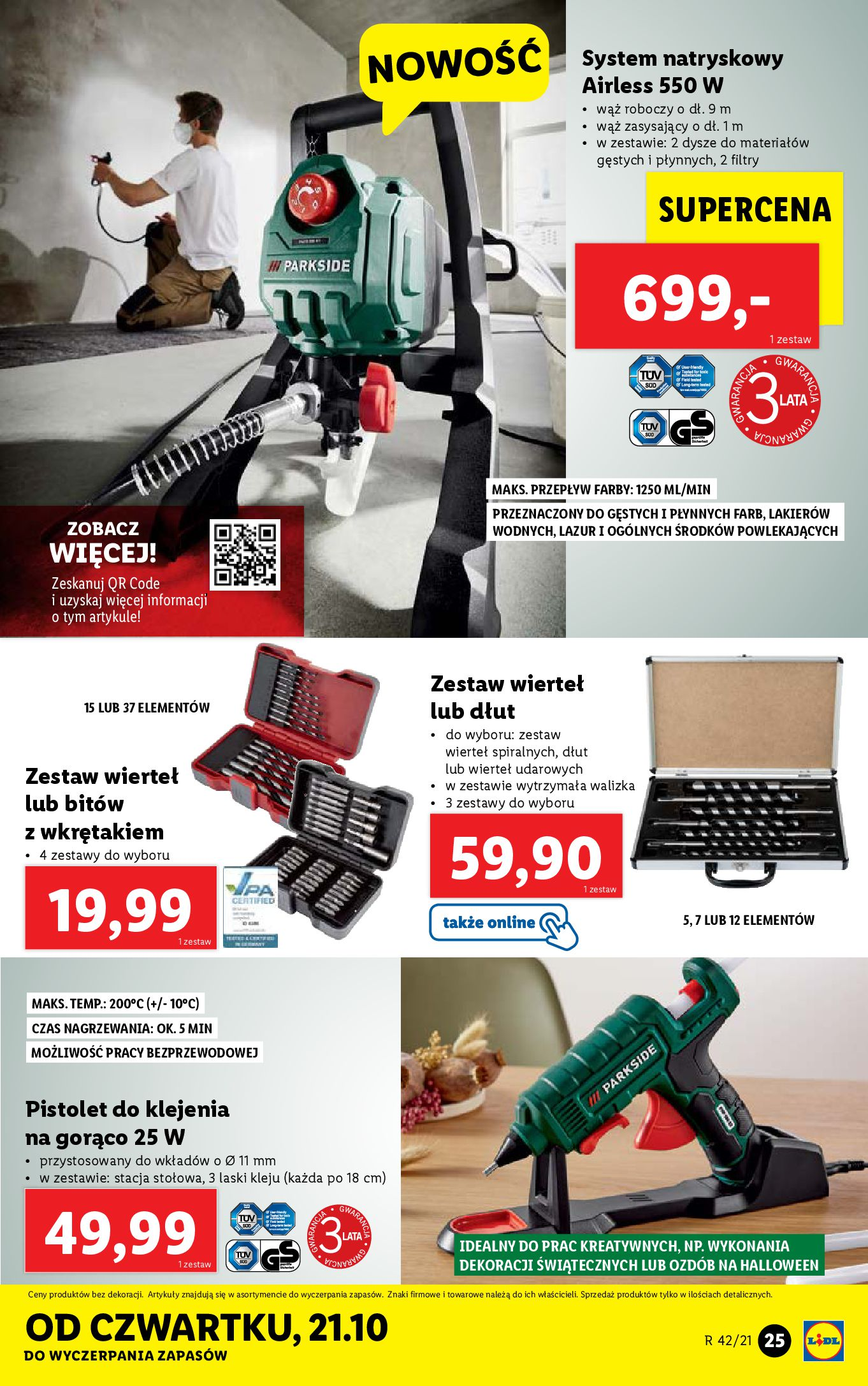 Gazetka Lidl: Gazetka Lidl - katalog 18-24.10. 2021-10-18 page-25