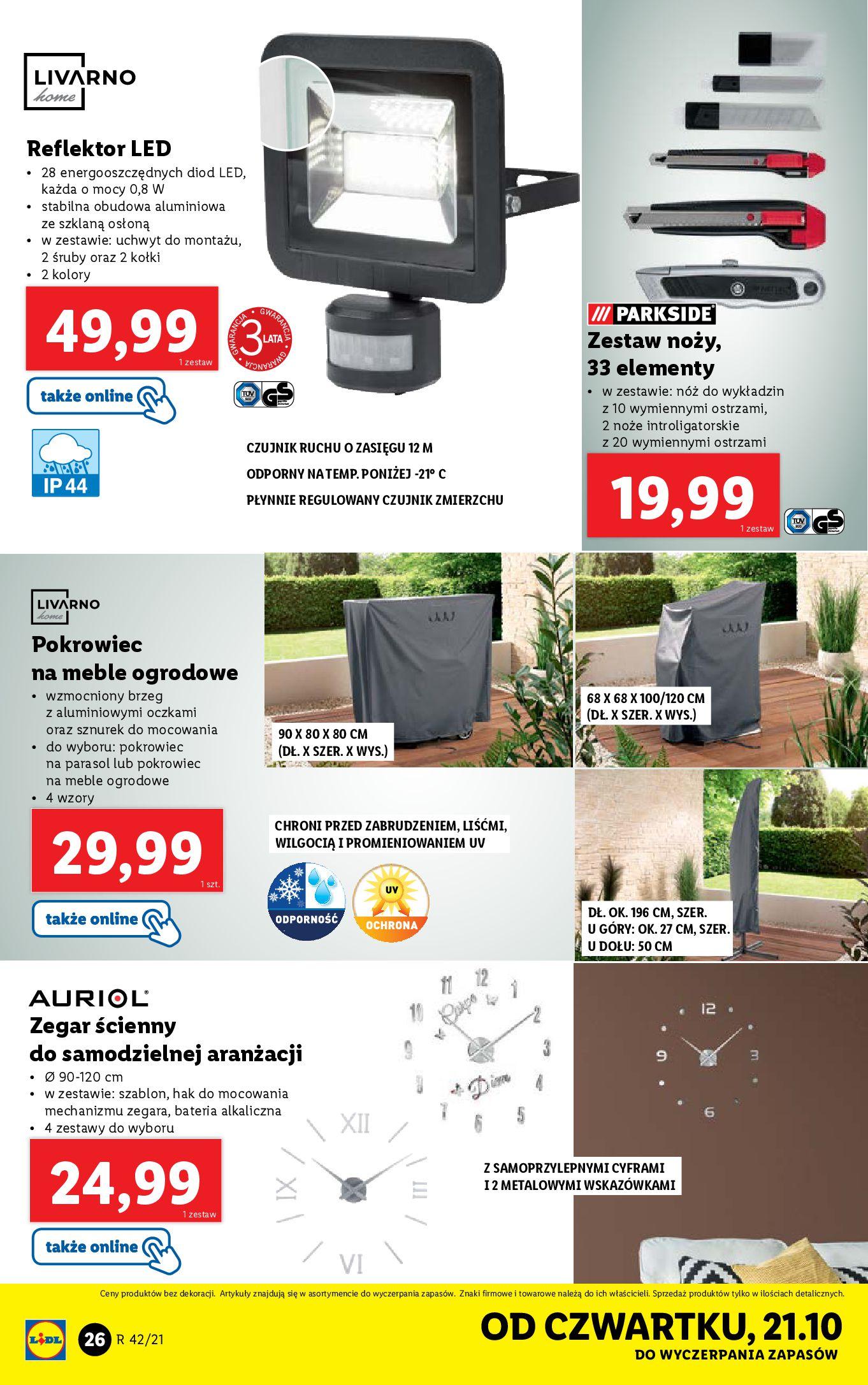 Gazetka Lidl: Gazetka Lidl - katalog 18-24.10. 2021-10-18 page-26