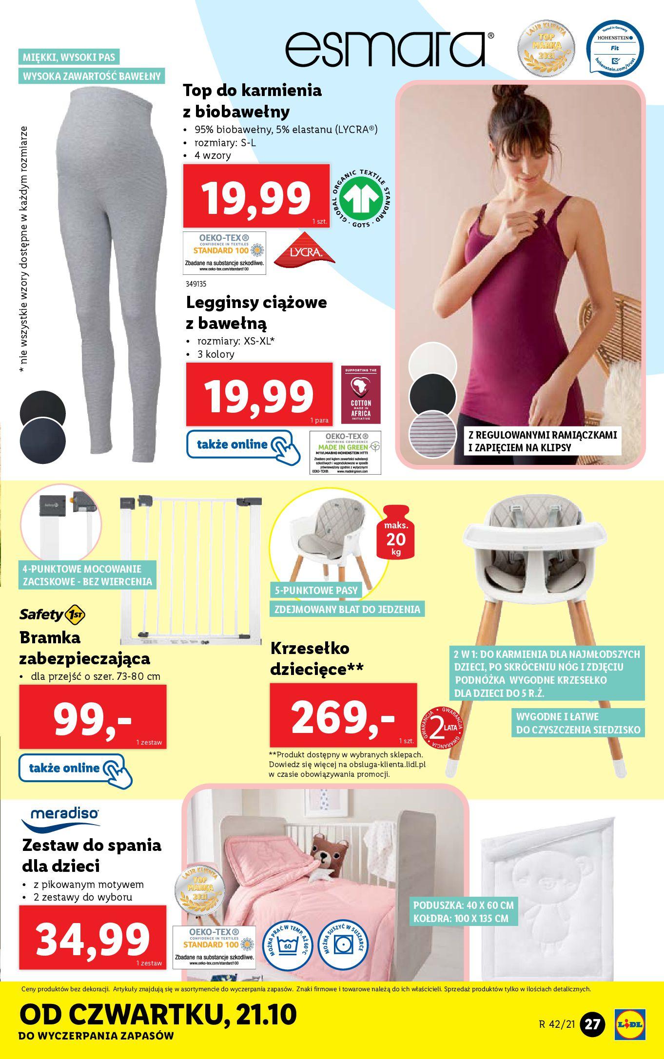 Gazetka Lidl: Gazetka Lidl - katalog 18-24.10. 2021-10-18 page-27
