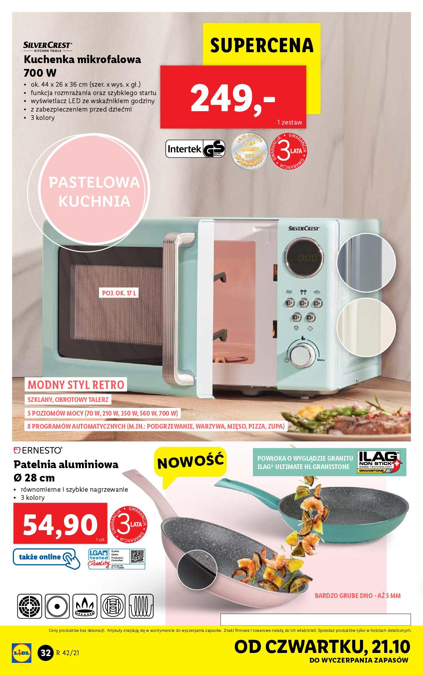 Gazetka Lidl: Gazetka Lidl - katalog 18-24.10. 2021-10-18 page-32