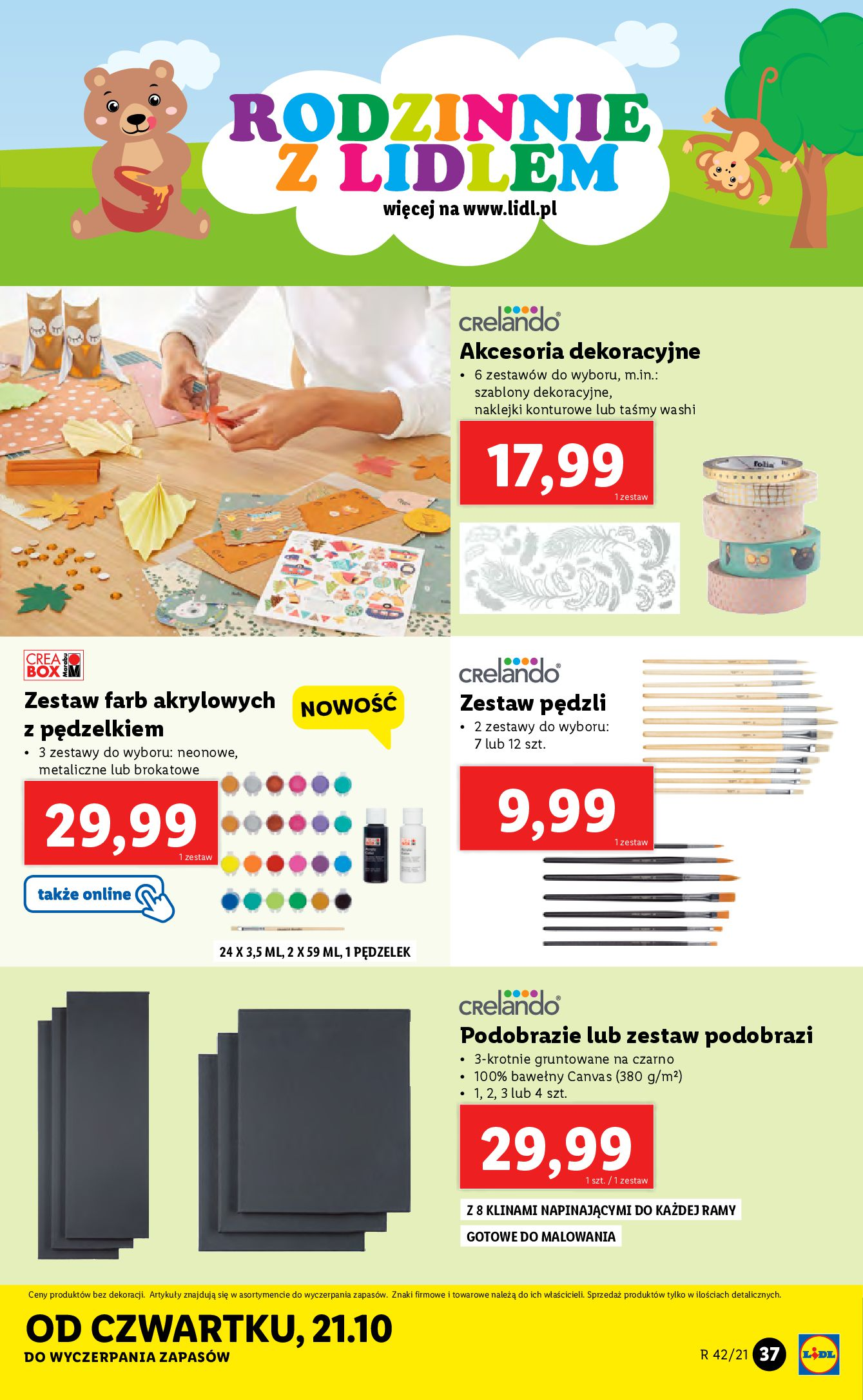 Gazetka Lidl: Gazetka Lidl - katalog 18-24.10. 2021-10-18 page-37
