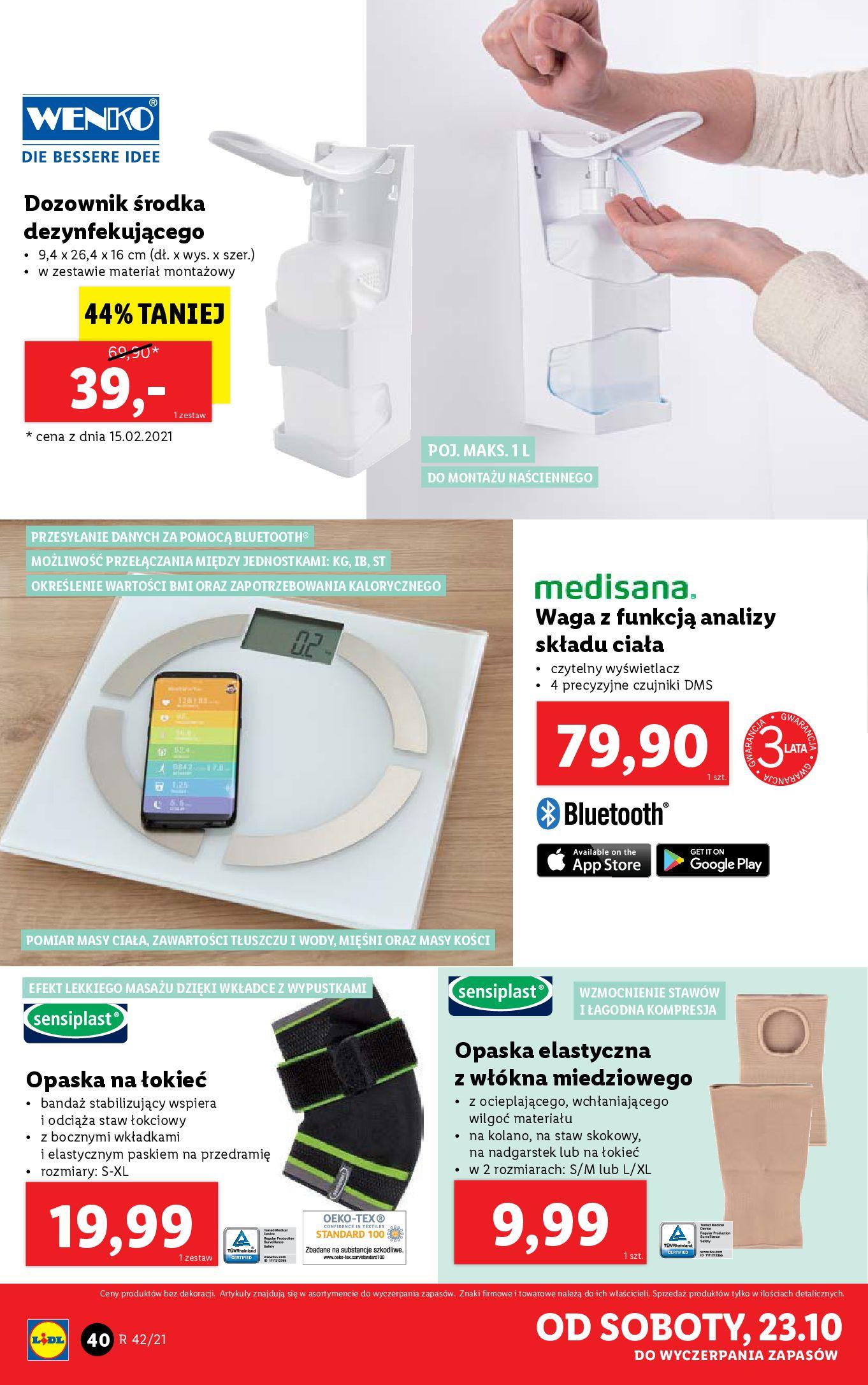 Gazetka Lidl: Gazetka Lidl - katalog 18-24.10. 2021-10-18 page-40