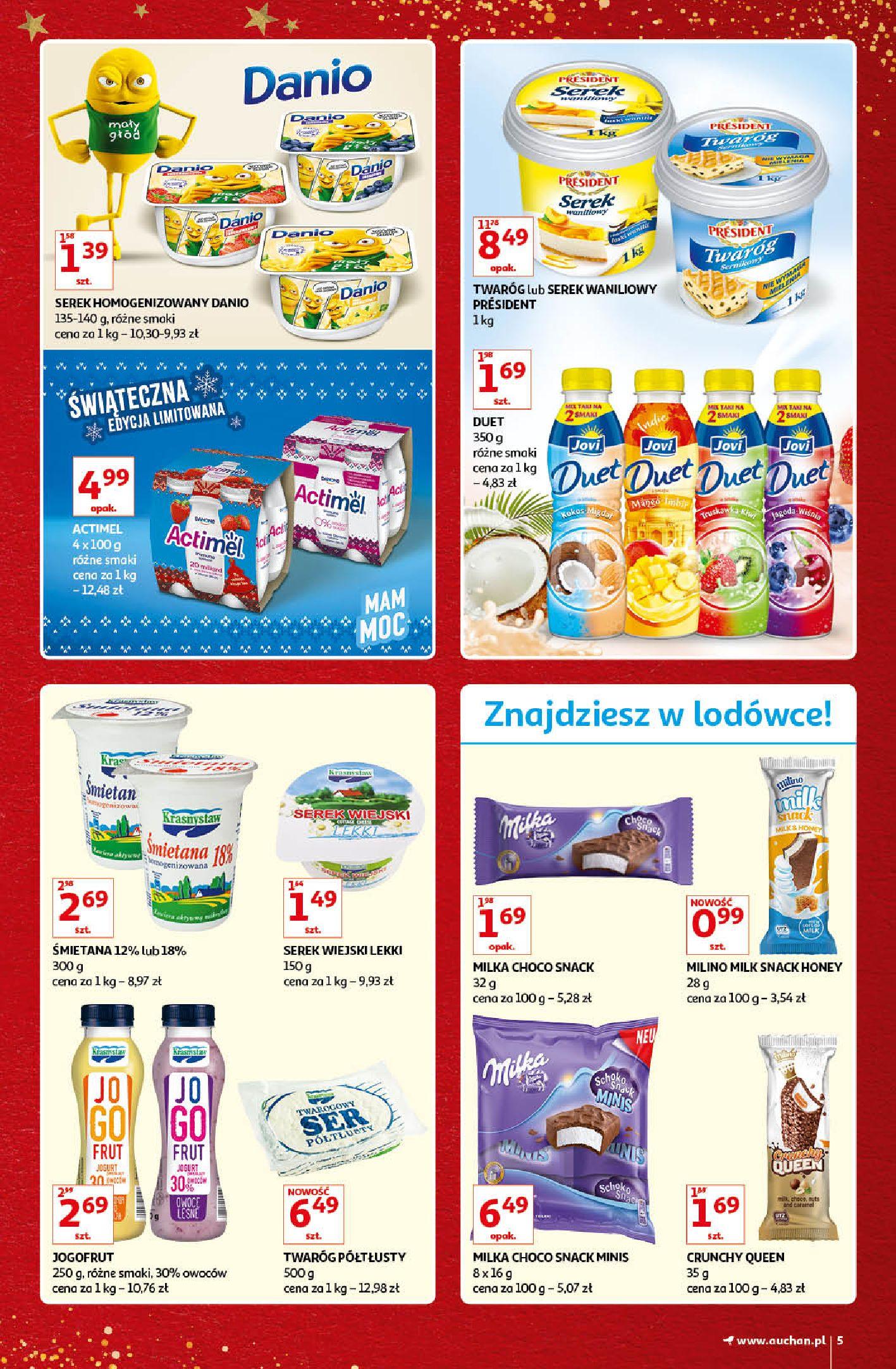 Gazetka Auchan - Kultowe Marki Hipermarkety-04.12.2019-15.12.2019-page-5