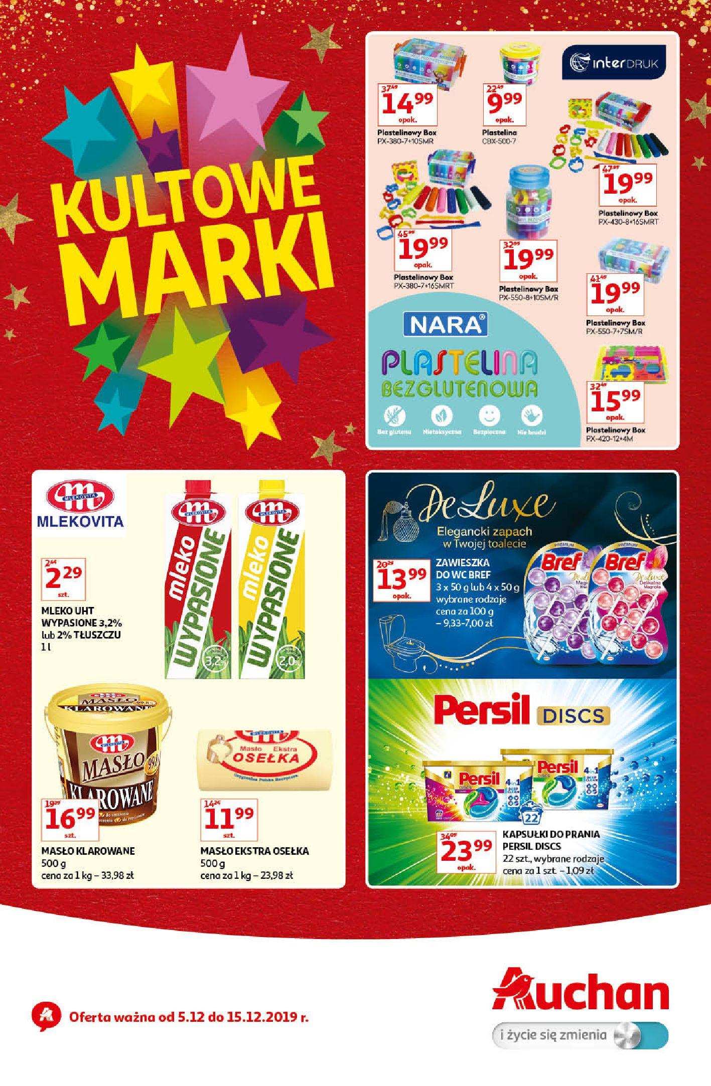 Gazetka Auchan - Kultowe Marki Hipermarkety-04.12.2019-15.12.2019-page-1