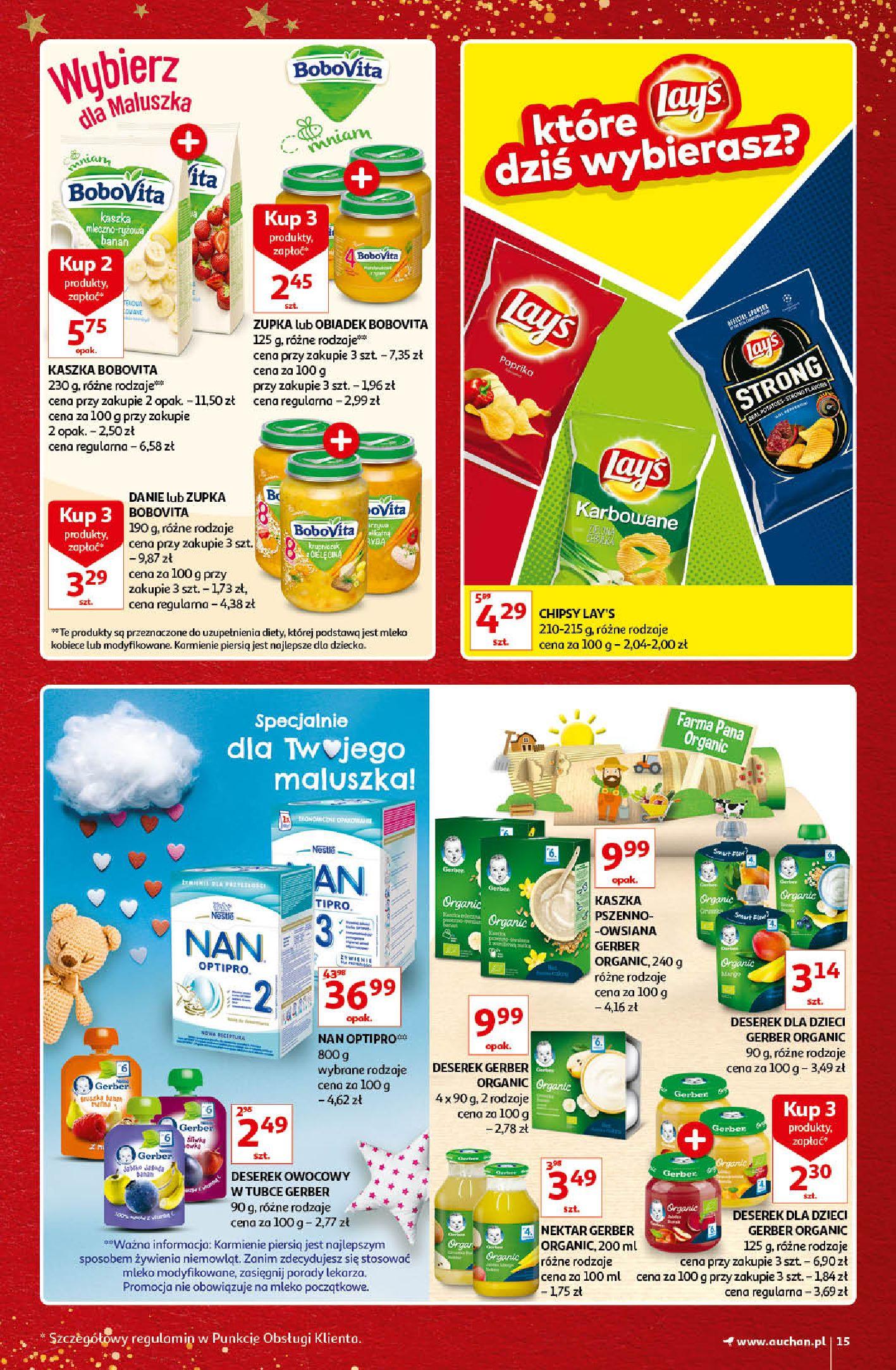 Gazetka Auchan - Kultowe Marki Hipermarkety-04.12.2019-15.12.2019-page-15