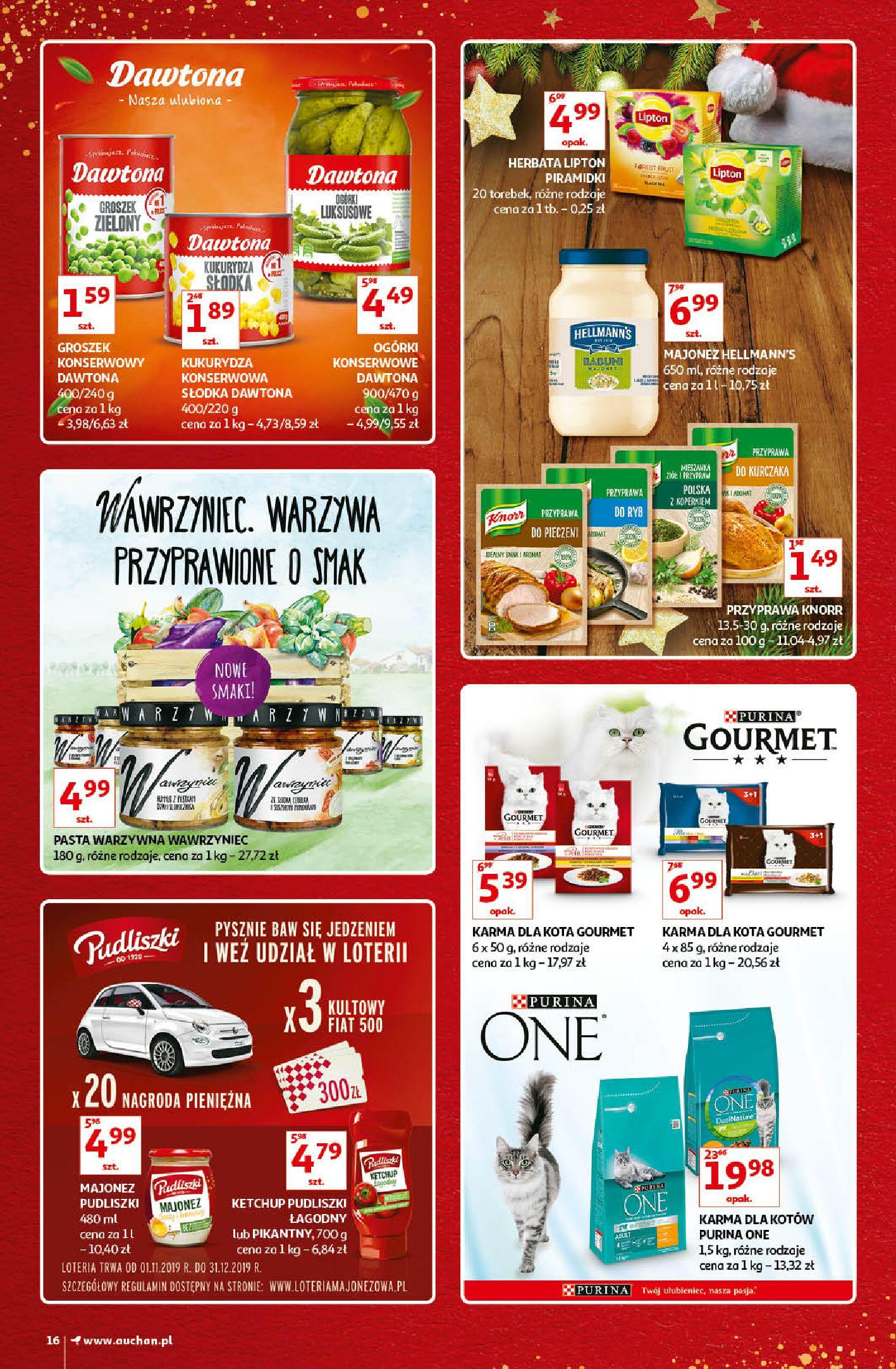 Gazetka Auchan - Kultowe Marki Hipermarkety-04.12.2019-15.12.2019-page-16