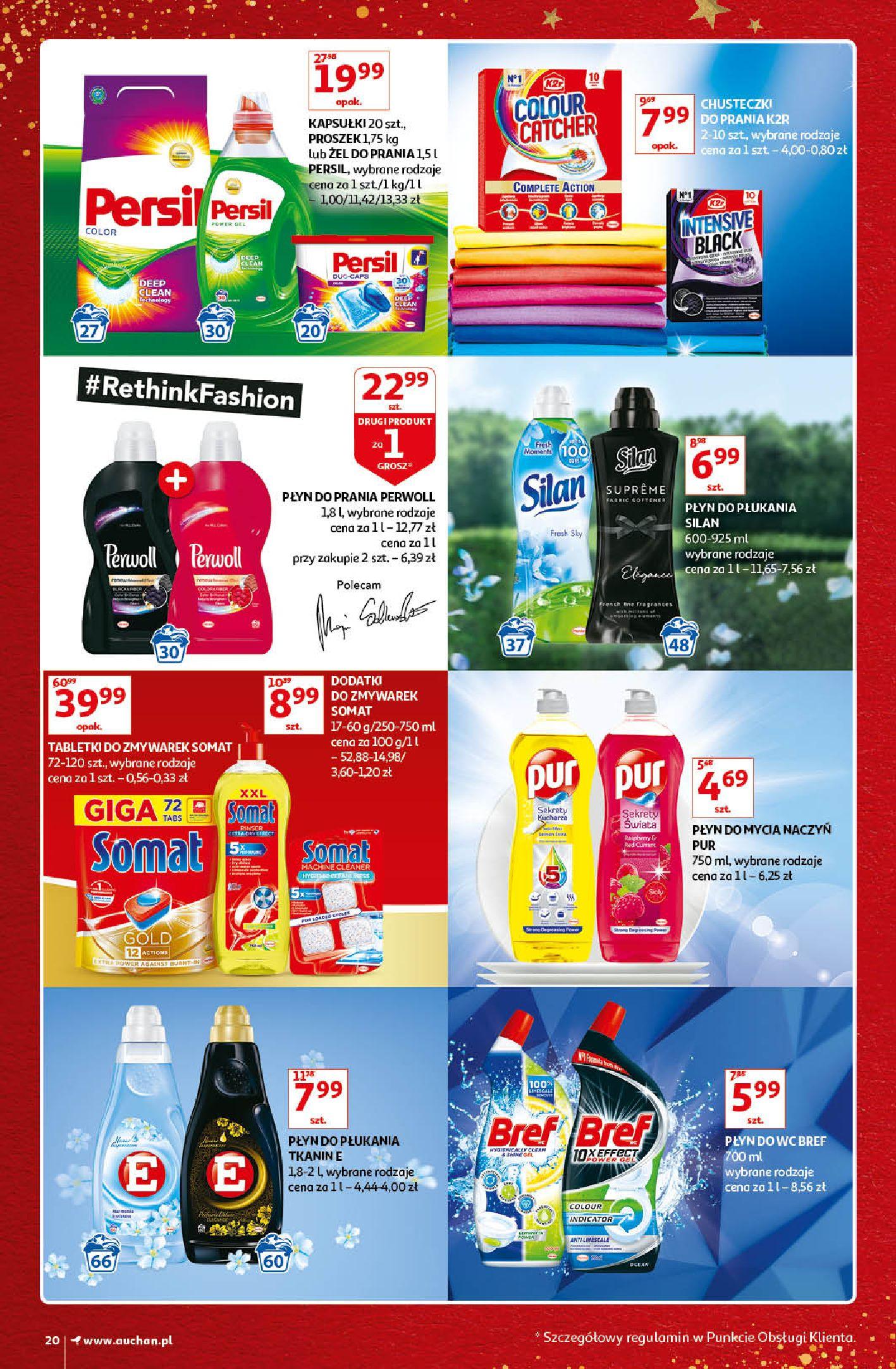 Gazetka Auchan - Kultowe Marki Hipermarkety-04.12.2019-15.12.2019-page-20