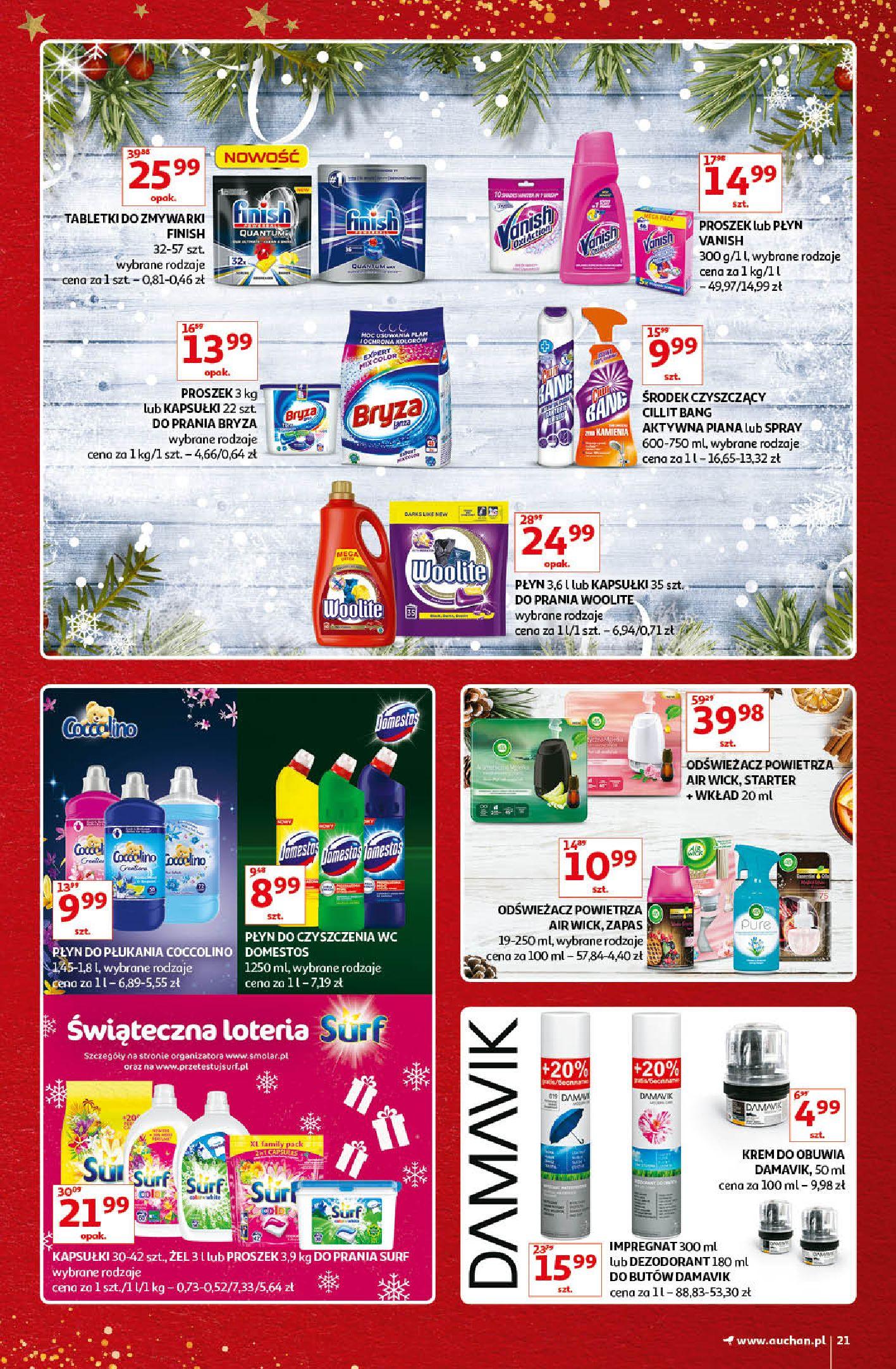 Gazetka Auchan - Kultowe Marki Hipermarkety-04.12.2019-15.12.2019-page-21