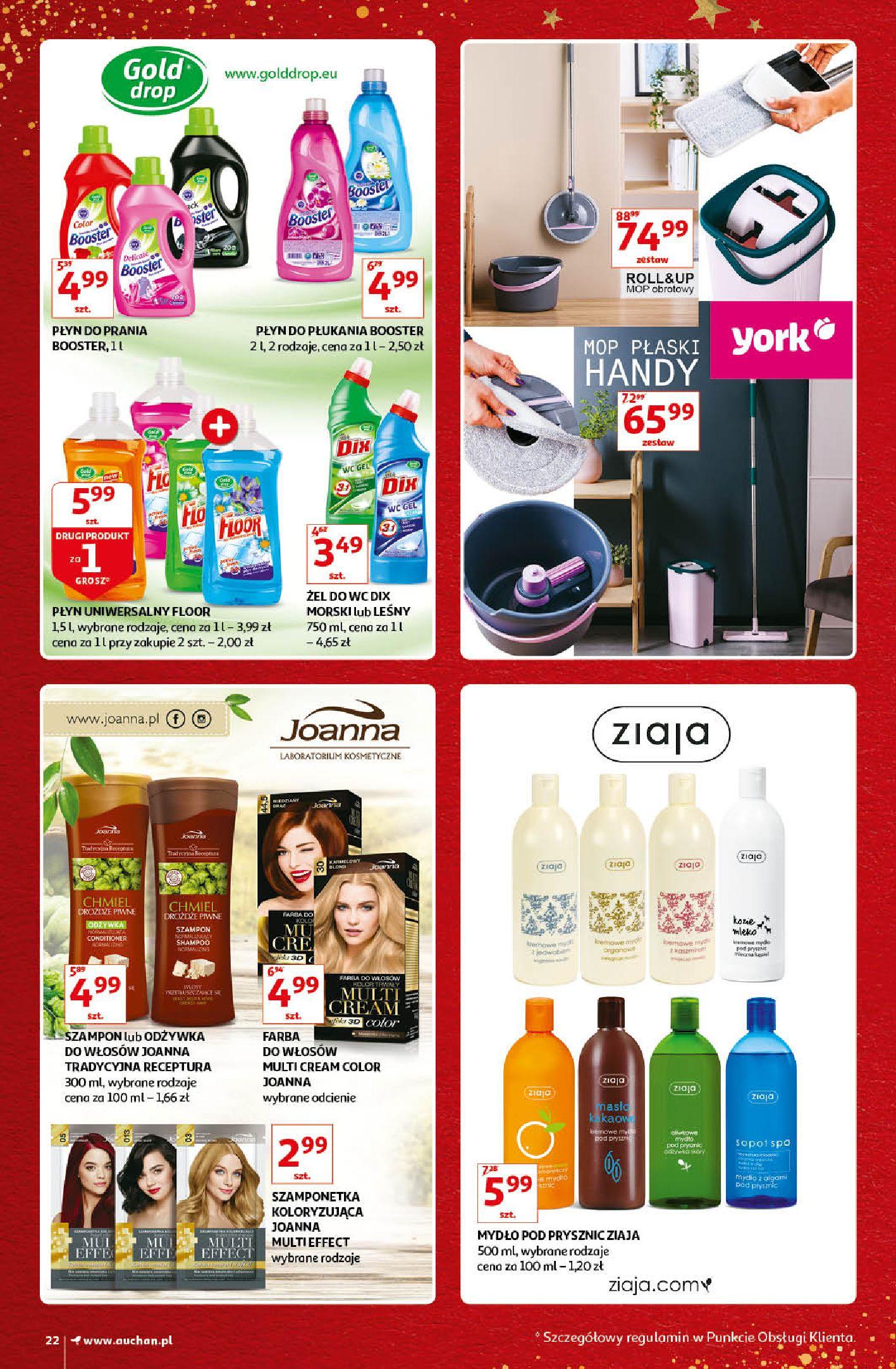Gazetka Auchan - Kultowe Marki Hipermarkety-04.12.2019-15.12.2019-page-22