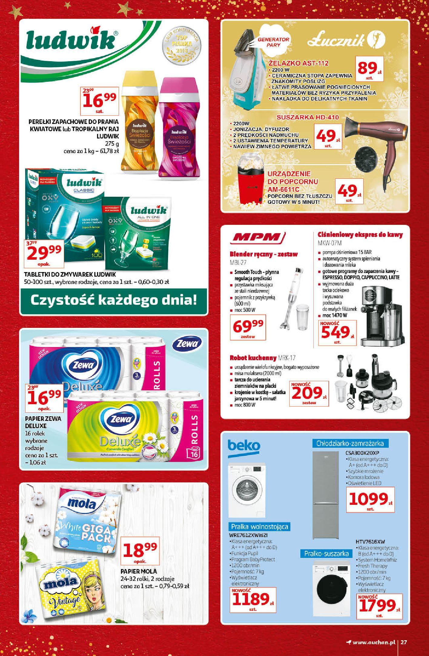 Gazetka Auchan - Kultowe Marki Hipermarkety-04.12.2019-15.12.2019-page-27