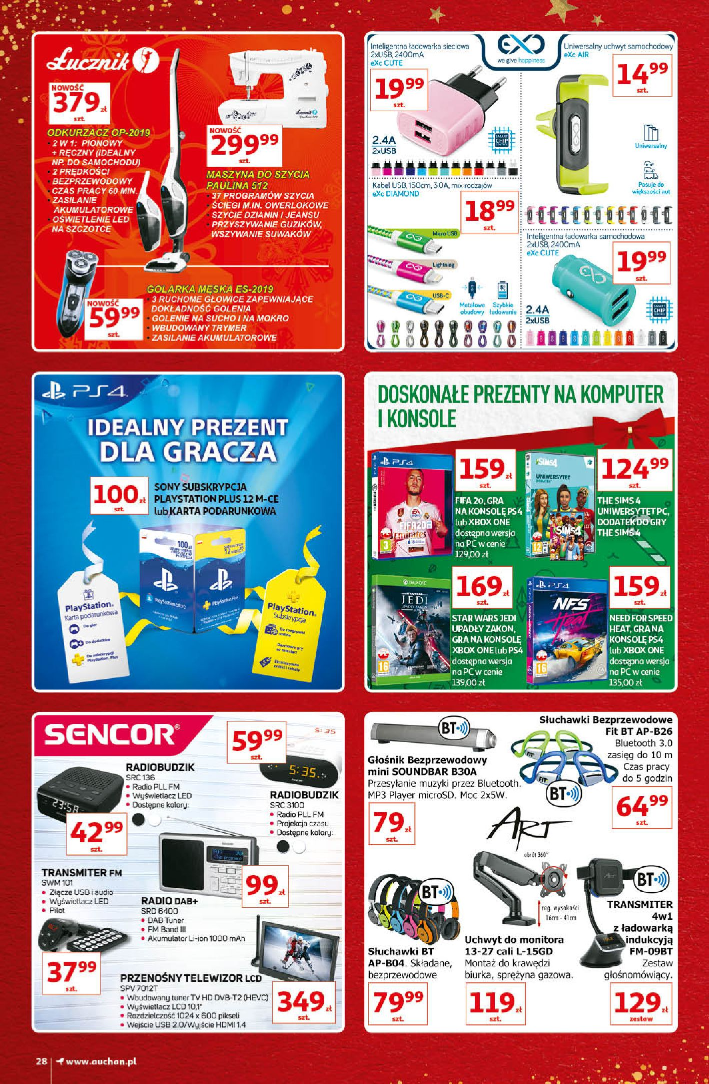 Gazetka Auchan - Kultowe Marki Hipermarkety-04.12.2019-15.12.2019-page-28