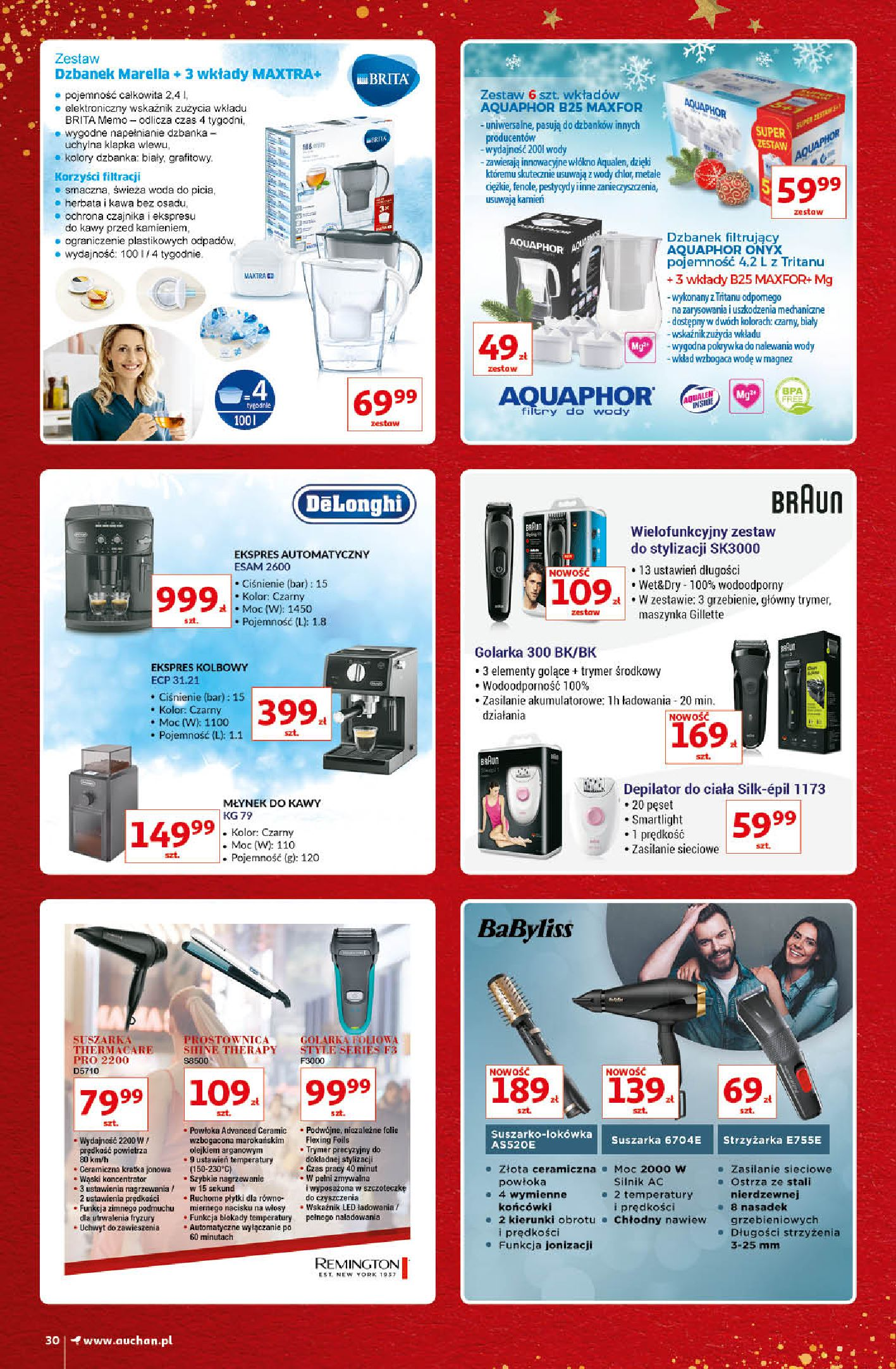 Gazetka Auchan - Kultowe Marki Hipermarkety-04.12.2019-15.12.2019-page-30