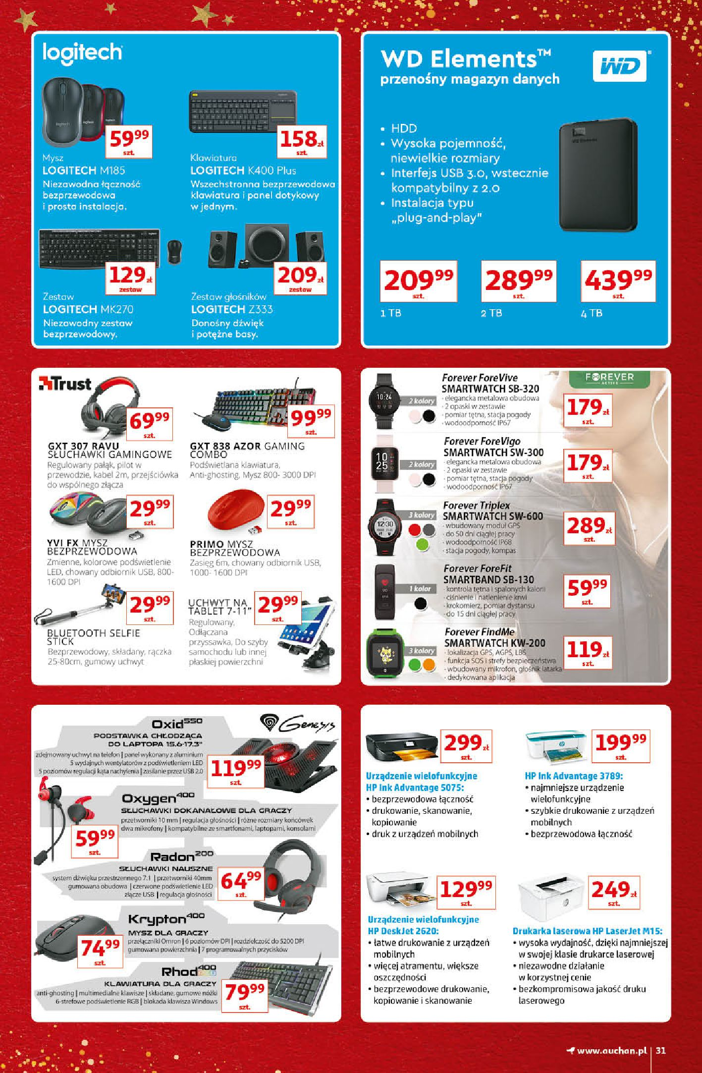Gazetka Auchan - Kultowe Marki Hipermarkety-04.12.2019-15.12.2019-page-31