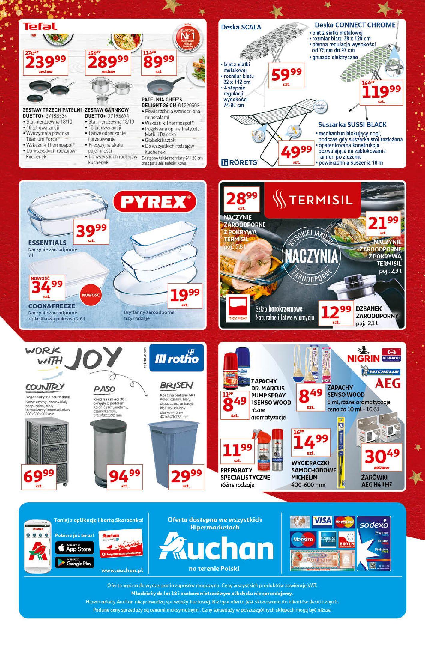 Gazetka Auchan - Kultowe Marki Hipermarkety-04.12.2019-15.12.2019-page-36