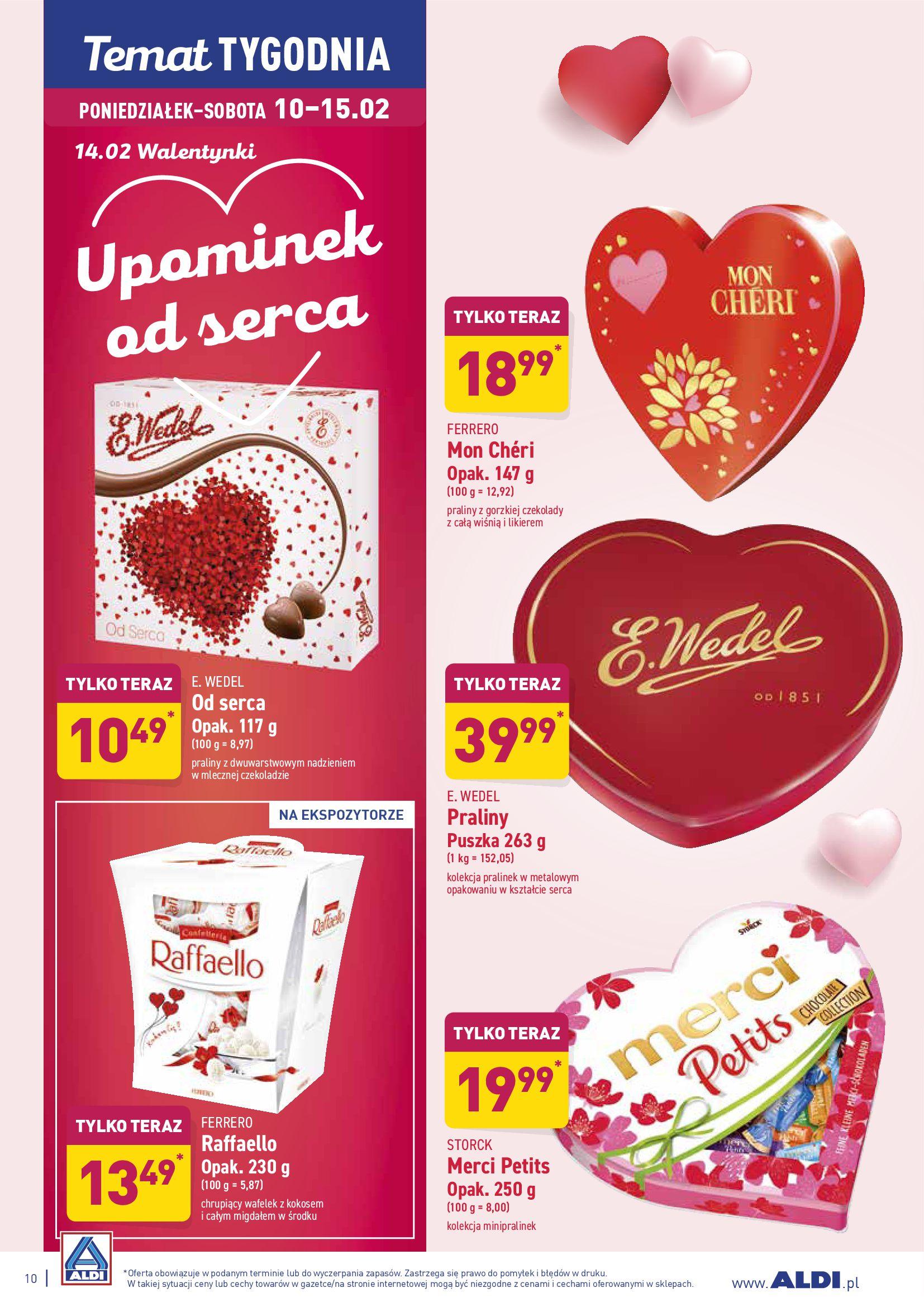 Gazetka Aldi - Upominek od serca-09.02.2020-15.02.2020-page-10