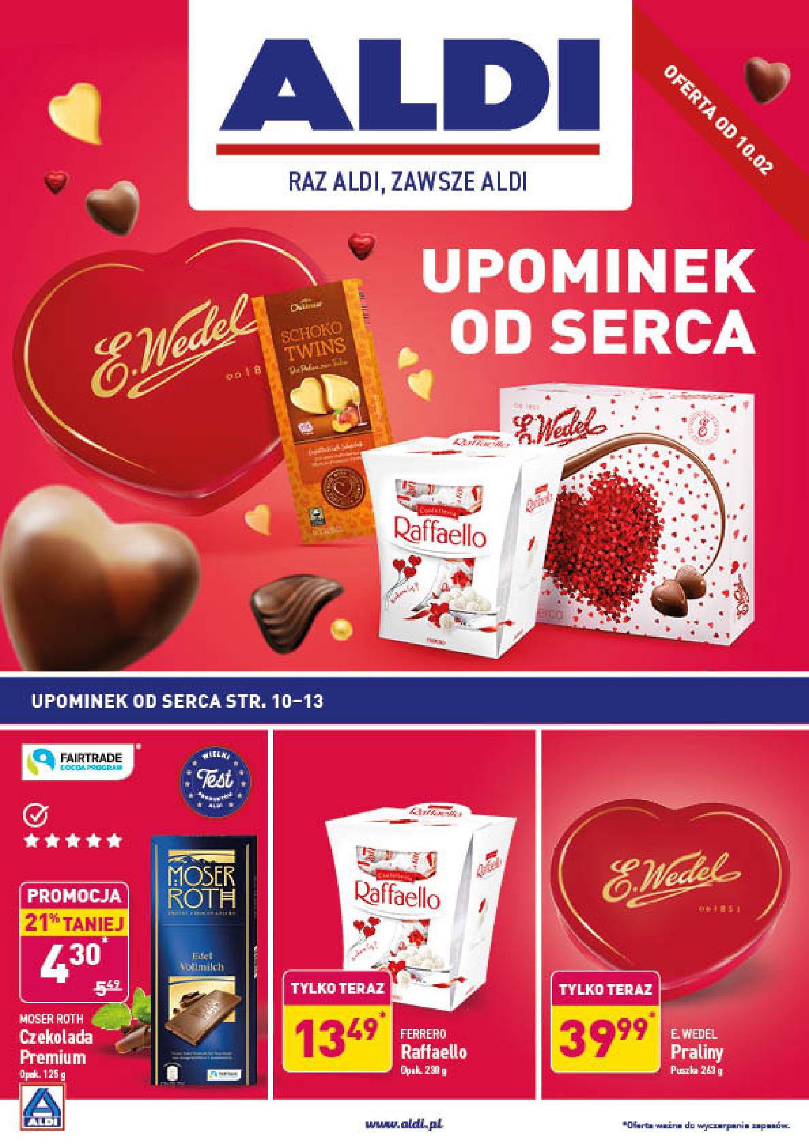 Gazetka Aldi - Upominek od serca-09.02.2020-15.02.2020-page-1
