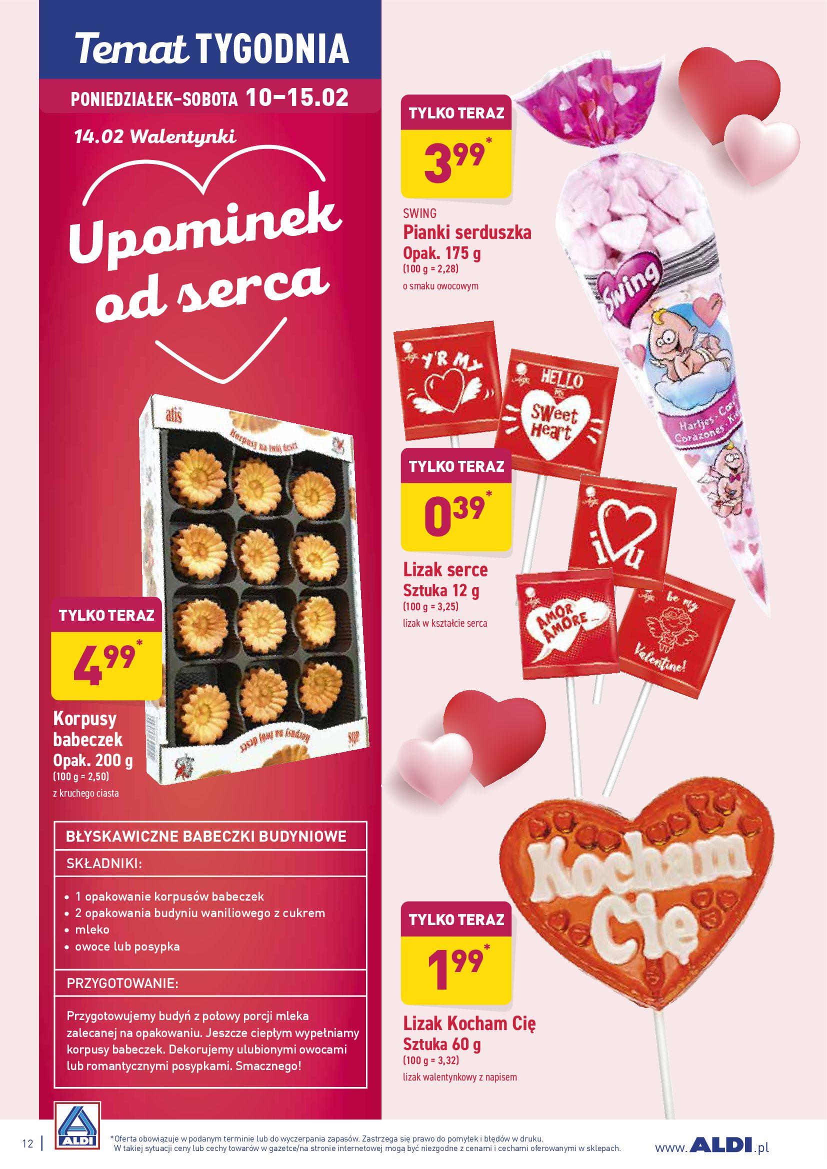 Gazetka Aldi - Upominek od serca-09.02.2020-15.02.2020-page-12