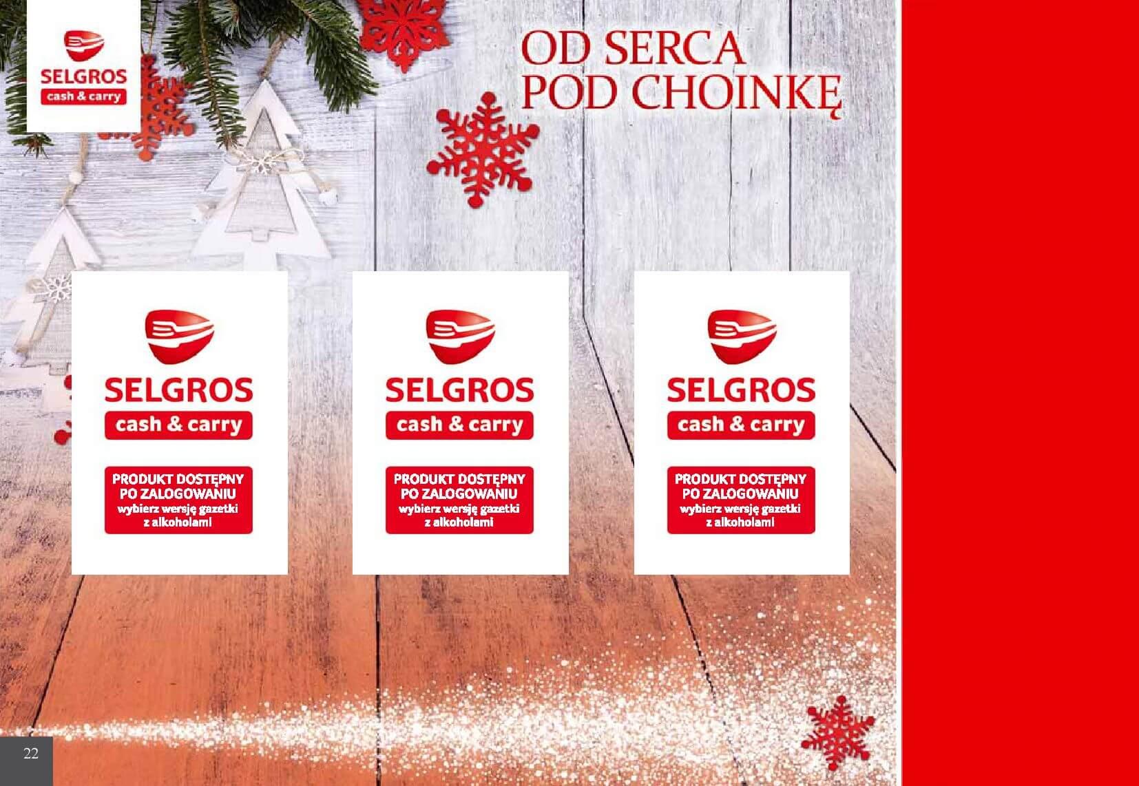 Gazetka Selgros - Od serca pod choinkę-05.12.2018-24.12.2018-page-