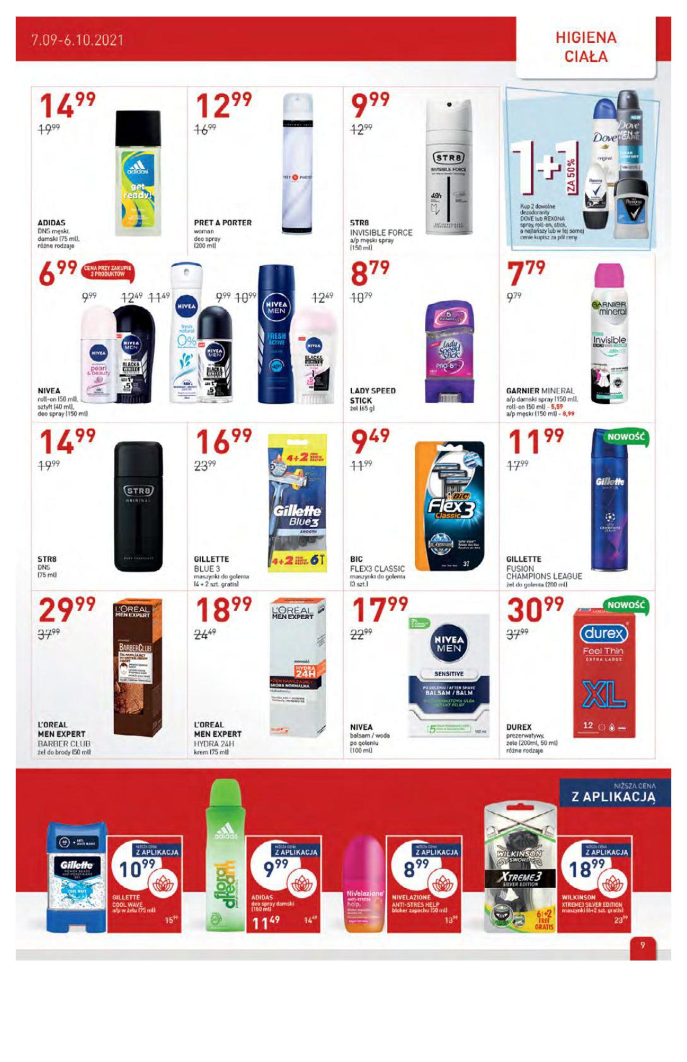 Gazetka Drogerie Jawa: Gazetka Drogerie Jawa 2021-09-07 page-9