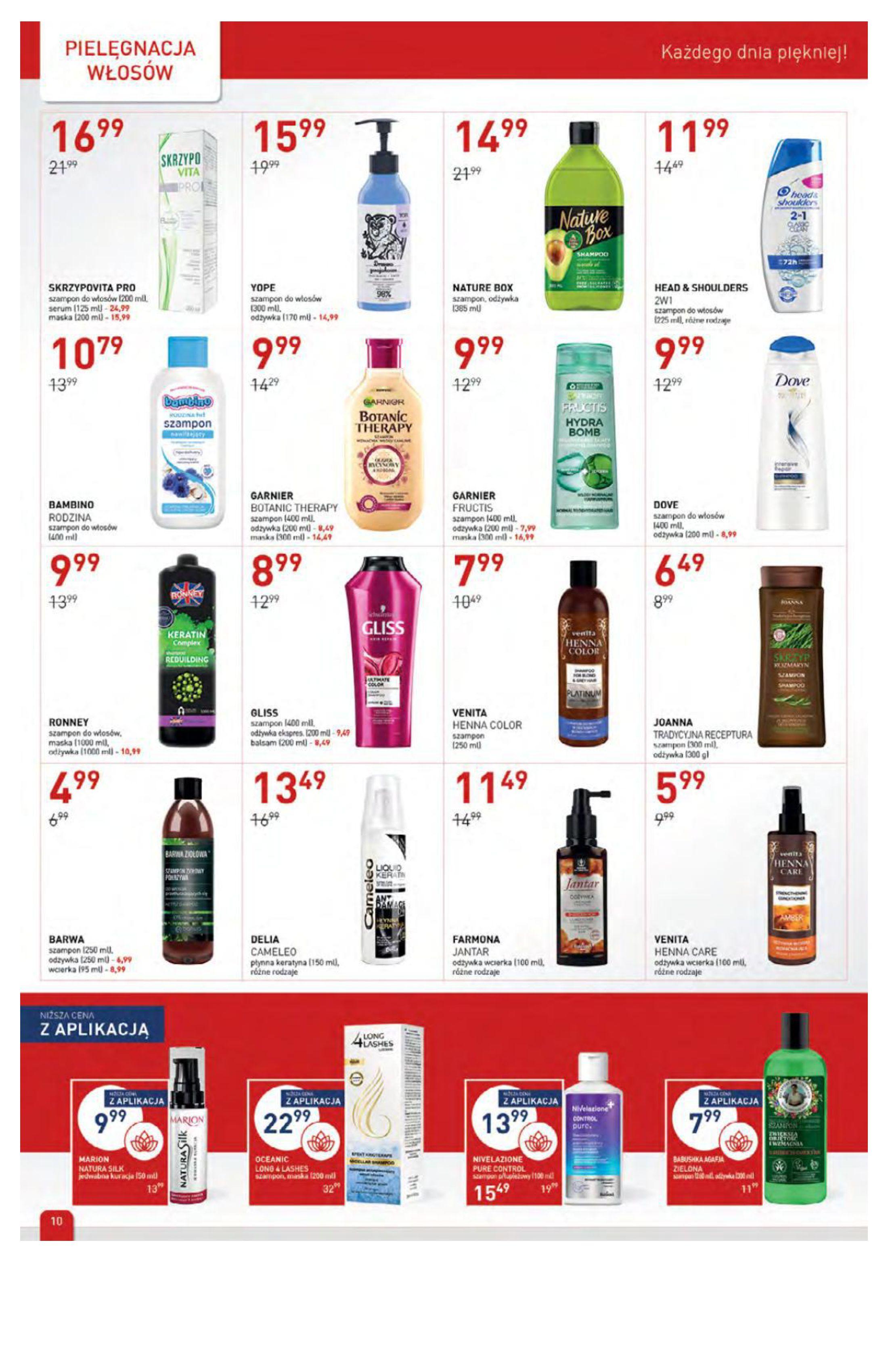 Gazetka Drogerie Jawa: Gazetka Drogerie Jawa 2021-09-07 page-10