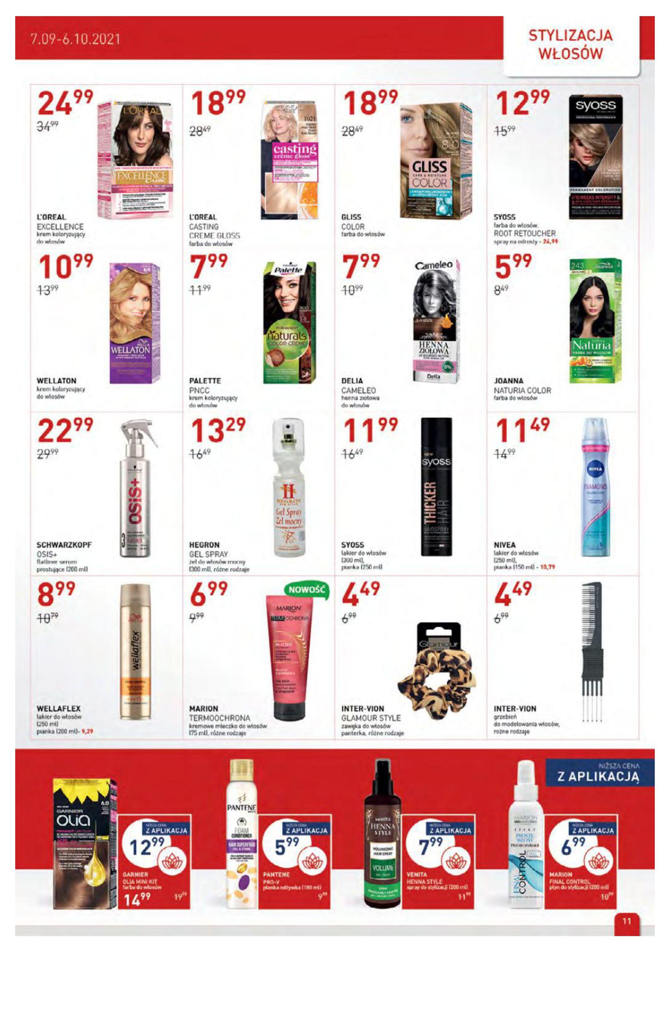 Gazetka Drogerie Jawa: Gazetka Drogerie Jawa 2021-09-07 page-11