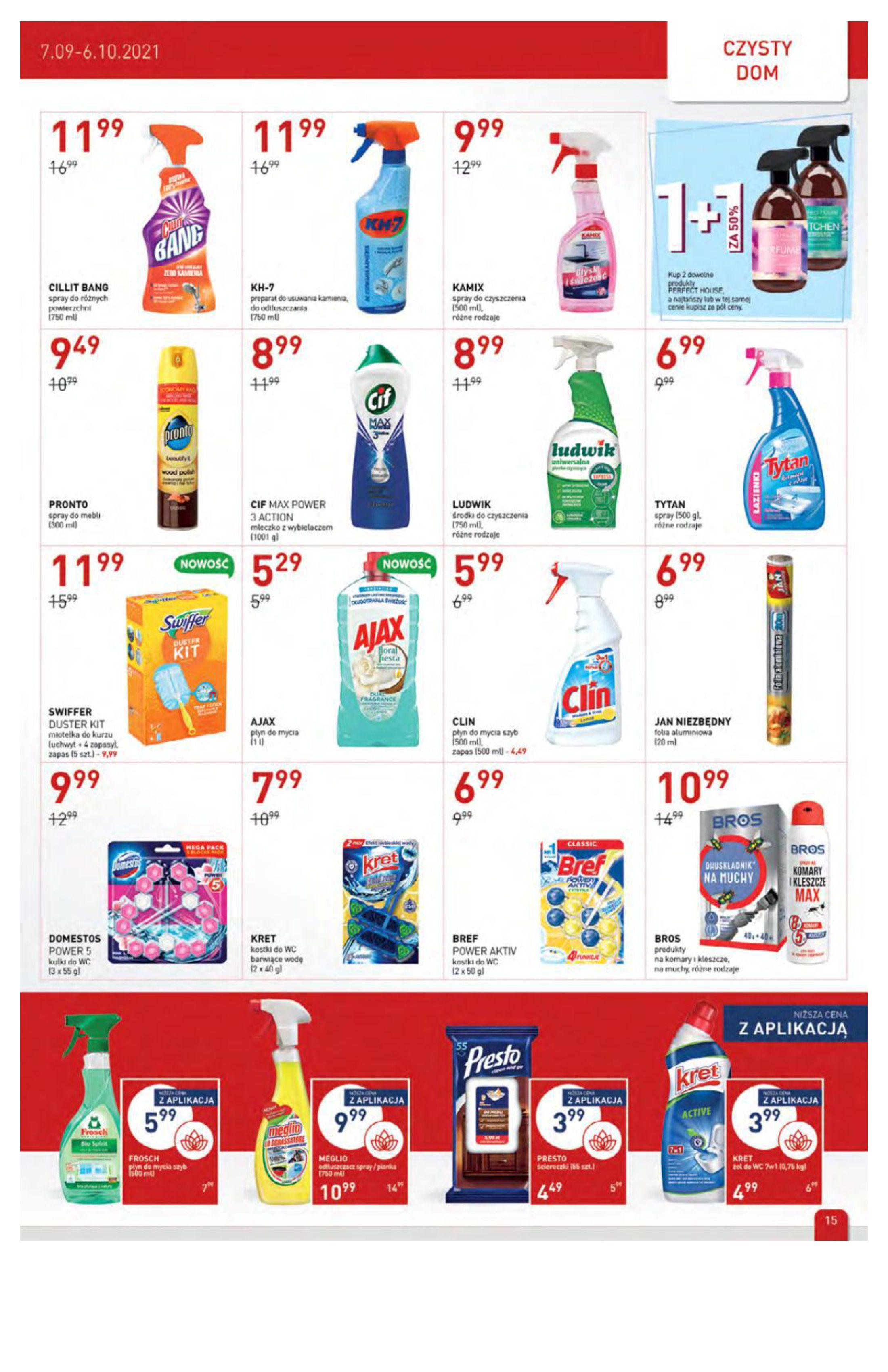 Gazetka Drogerie Jawa: Gazetka Drogerie Jawa 2021-09-07 page-15
