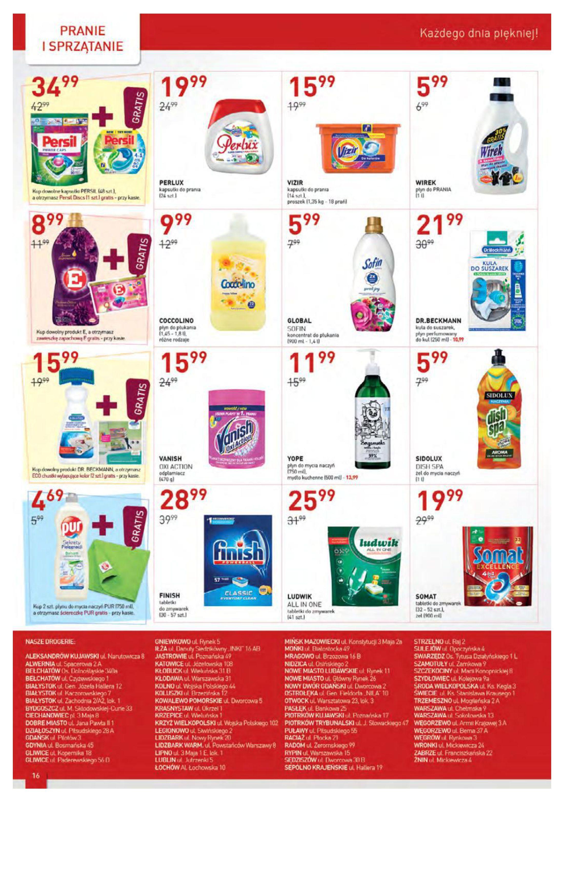 Gazetka Drogerie Jawa: Gazetka Drogerie Jawa 2021-09-07 page-16