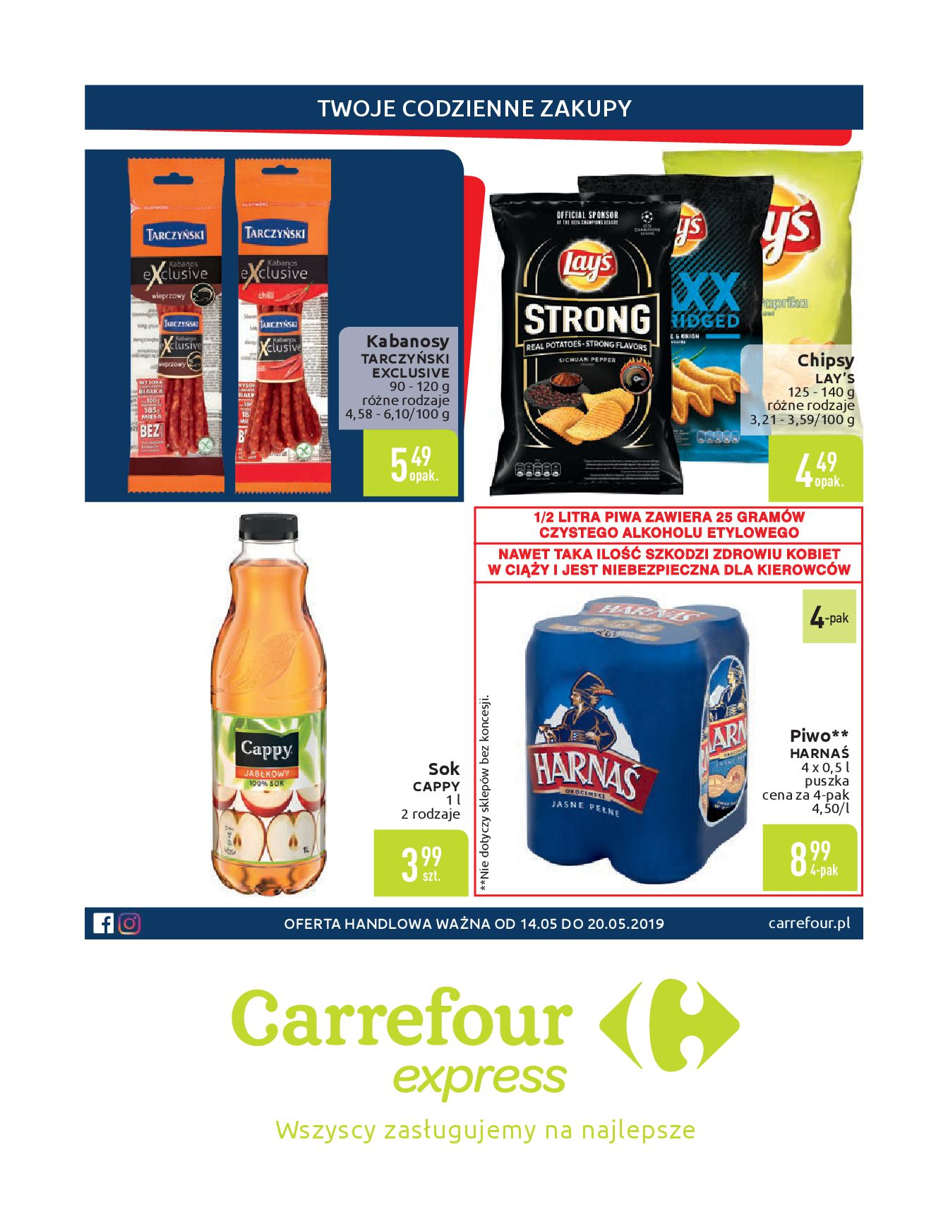 Gazetka Carrefour Express - Twoje codzienne zakupy-13.05.2019-20.05.2019-page-