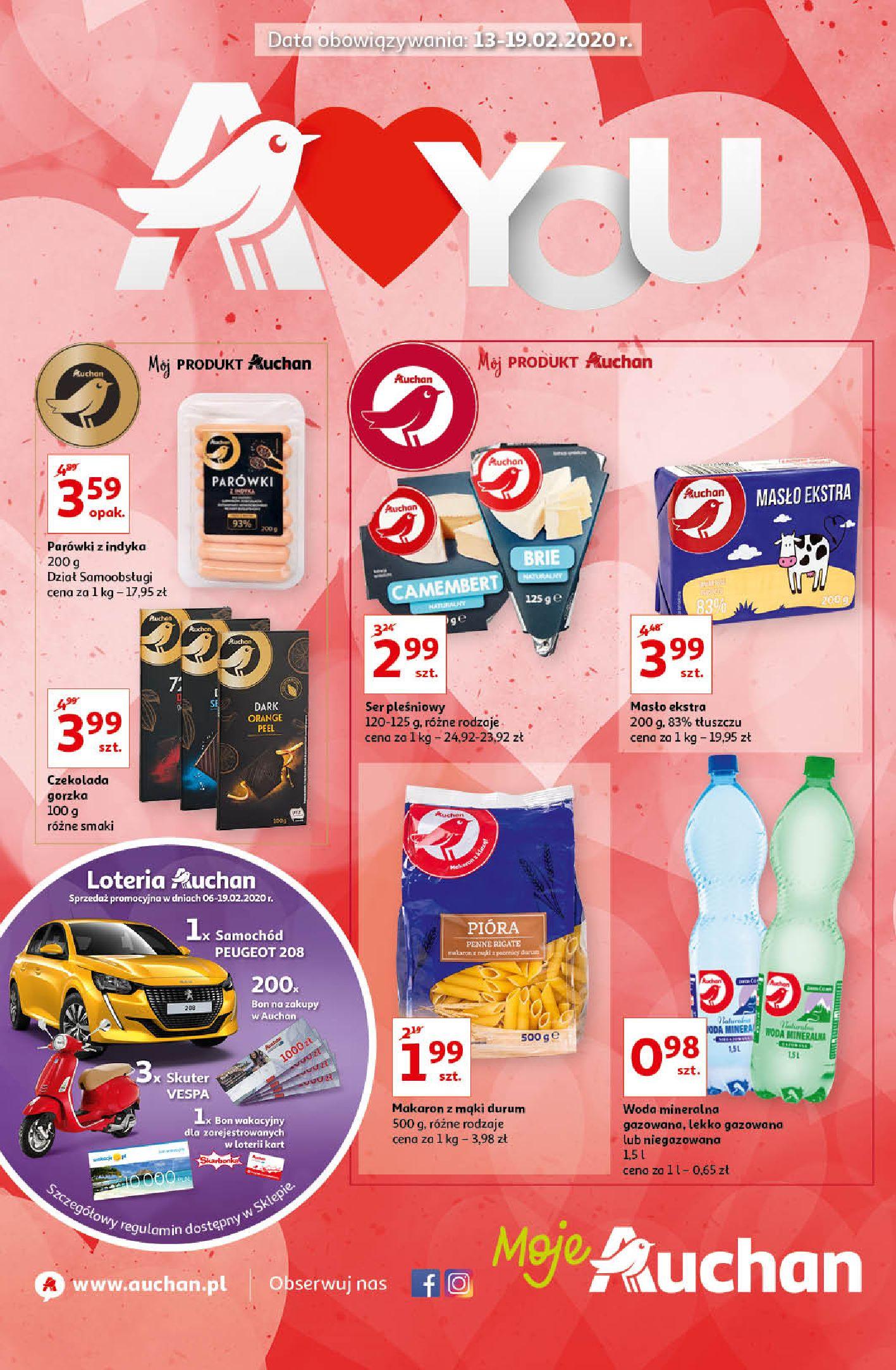 Gazetka Auchan - Oferta Moje Auchan 13-19.02.2020-12.02.2020-19.02.2020-page-1