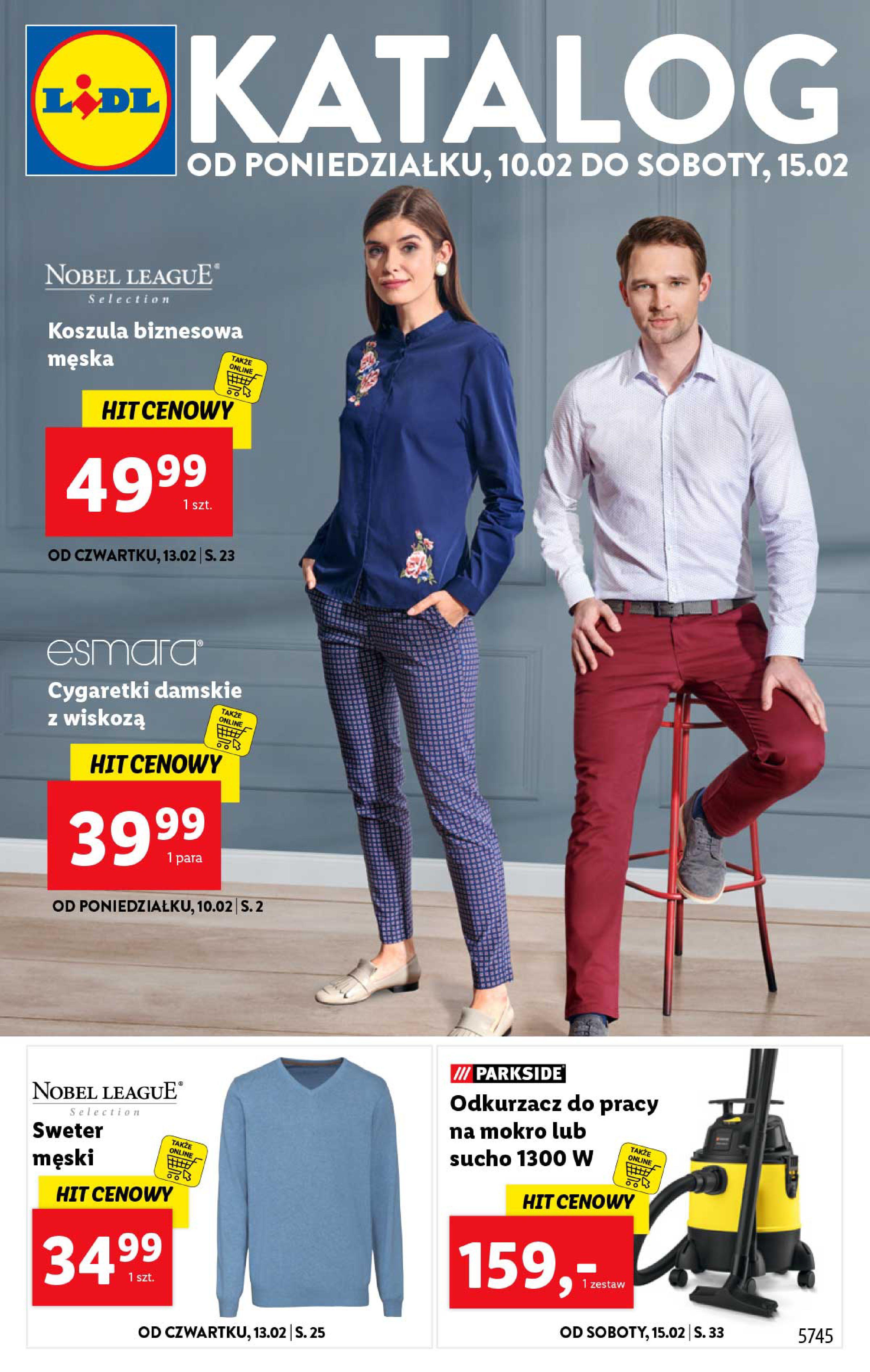 Gazetka Lidl - Katalog od poniedziałku-09.02.2020-15.02.2020-page-1