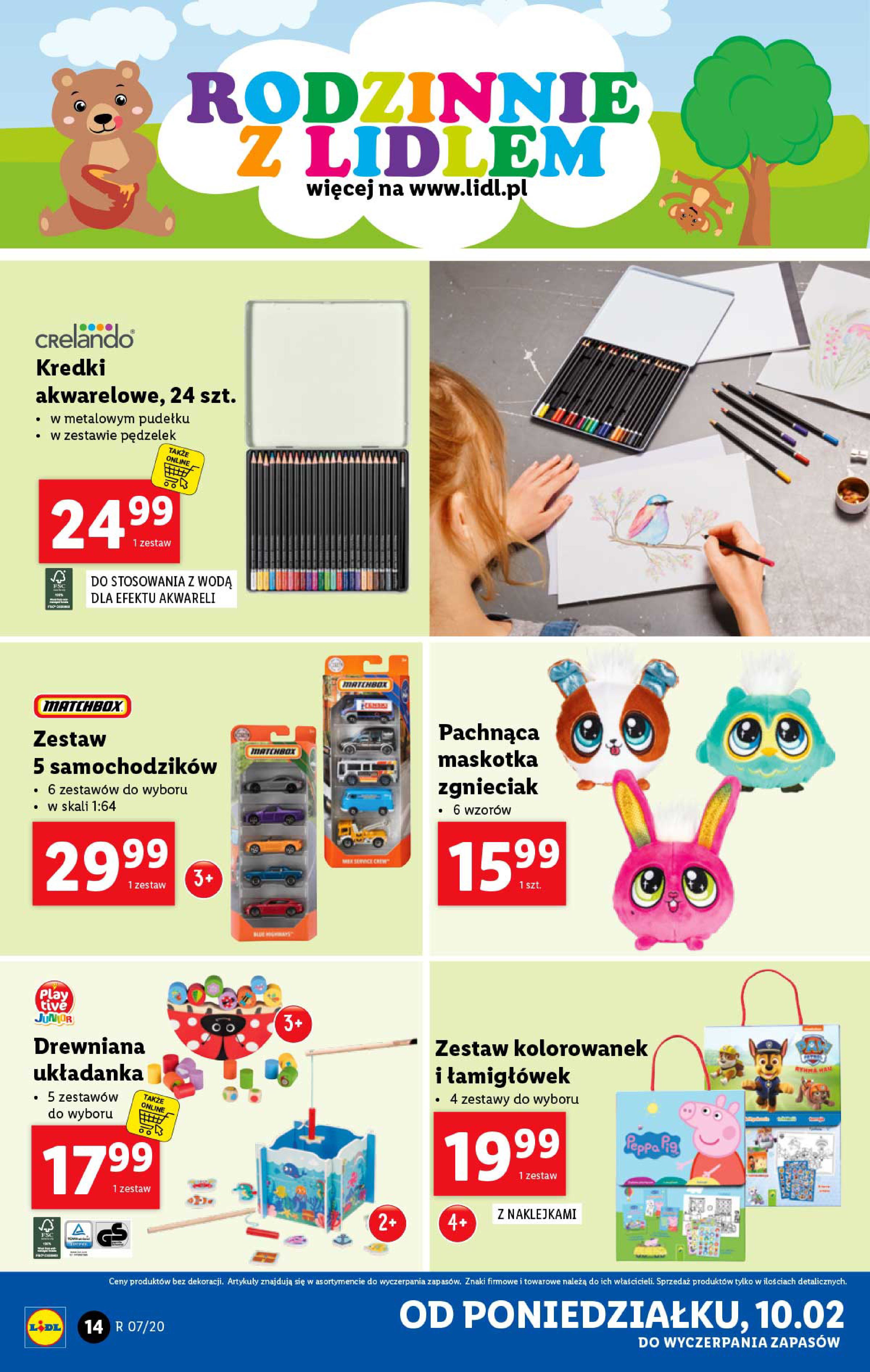 Gazetka Lidl - Katalog od poniedziałku-09.02.2020-15.02.2020-page-14