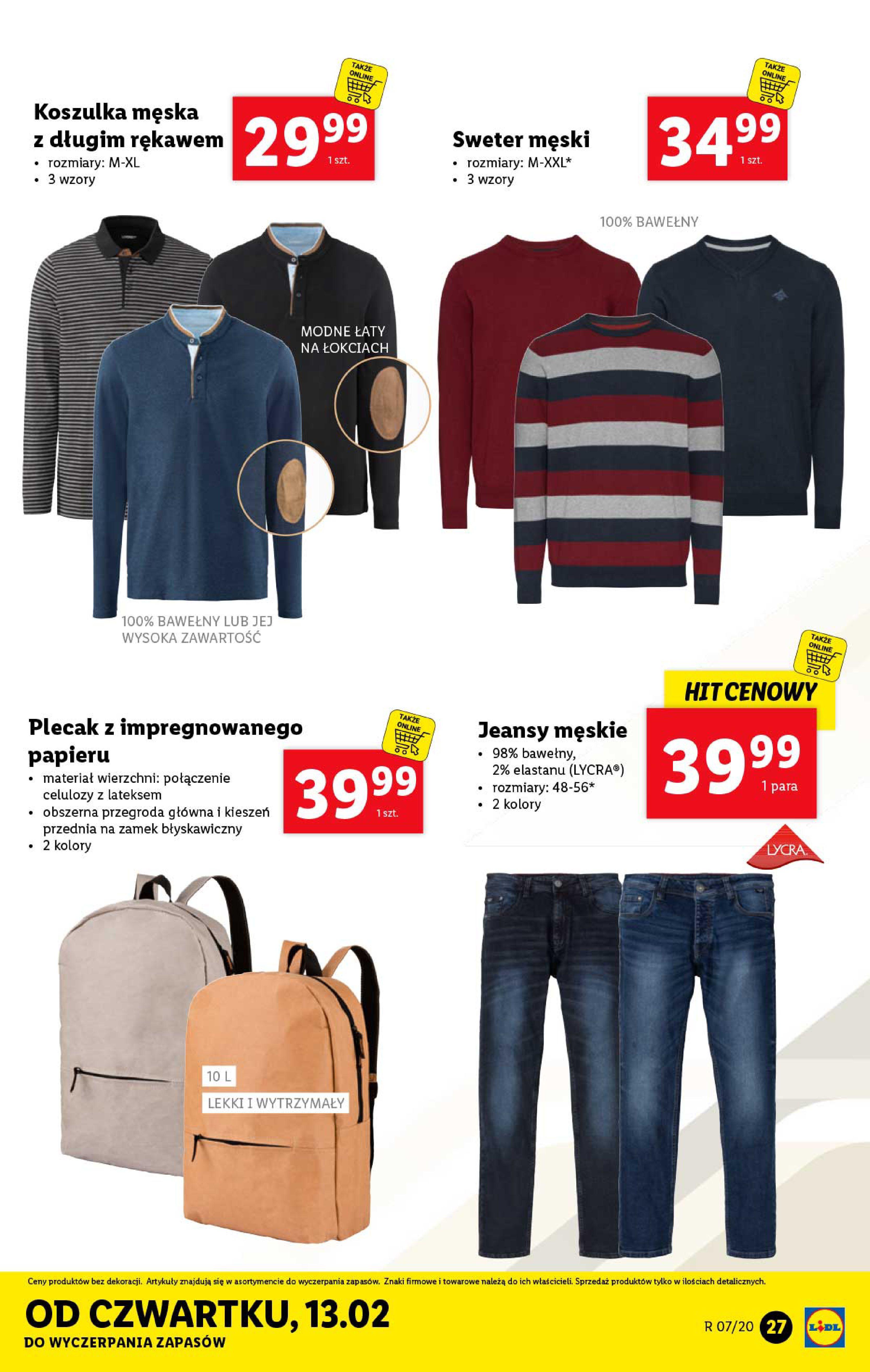 Gazetka Lidl - Katalog od poniedziałku-09.02.2020-15.02.2020-page-27