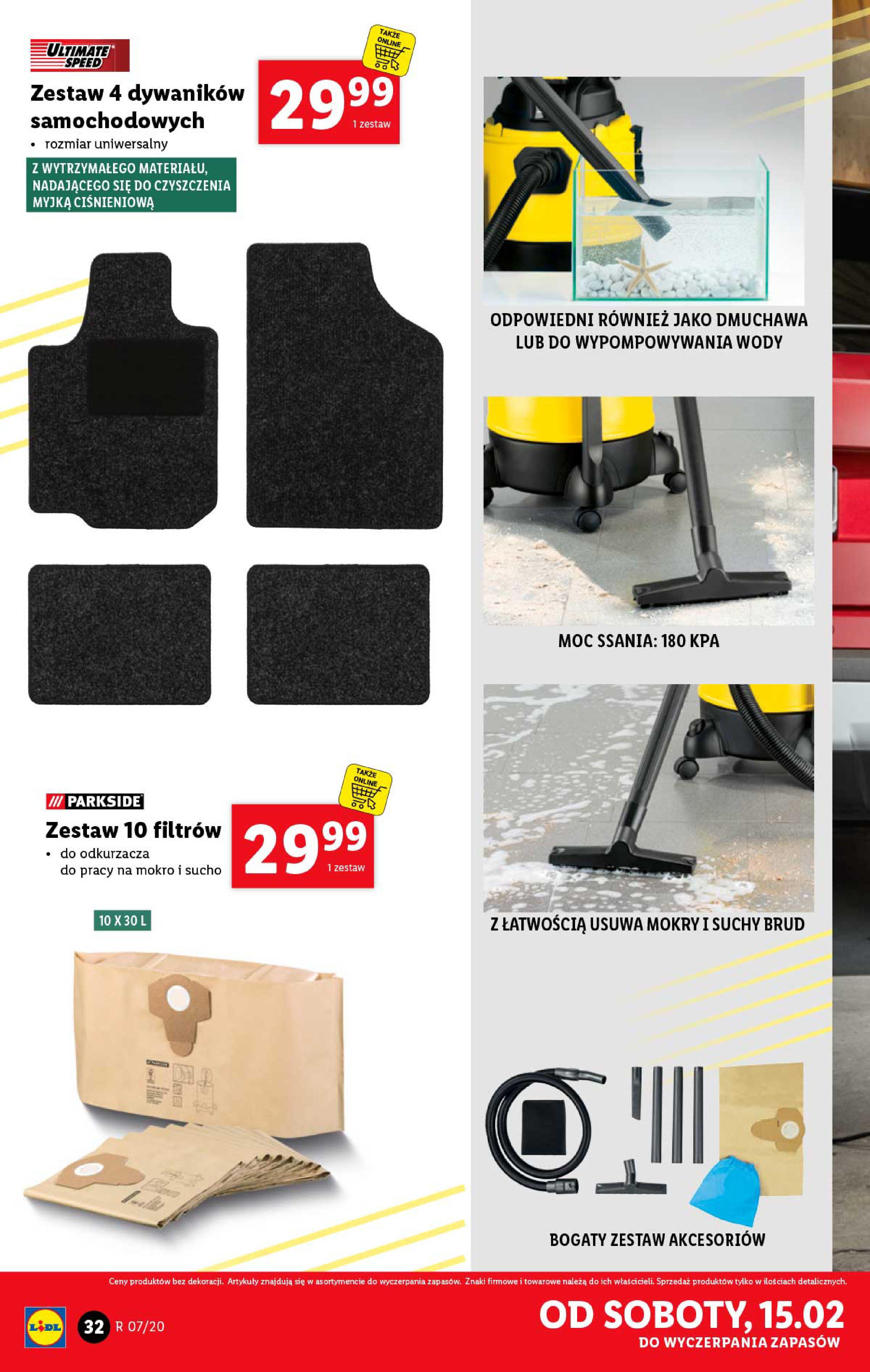 Gazetka Lidl - Katalog od poniedziałku-09.02.2020-15.02.2020-page-32