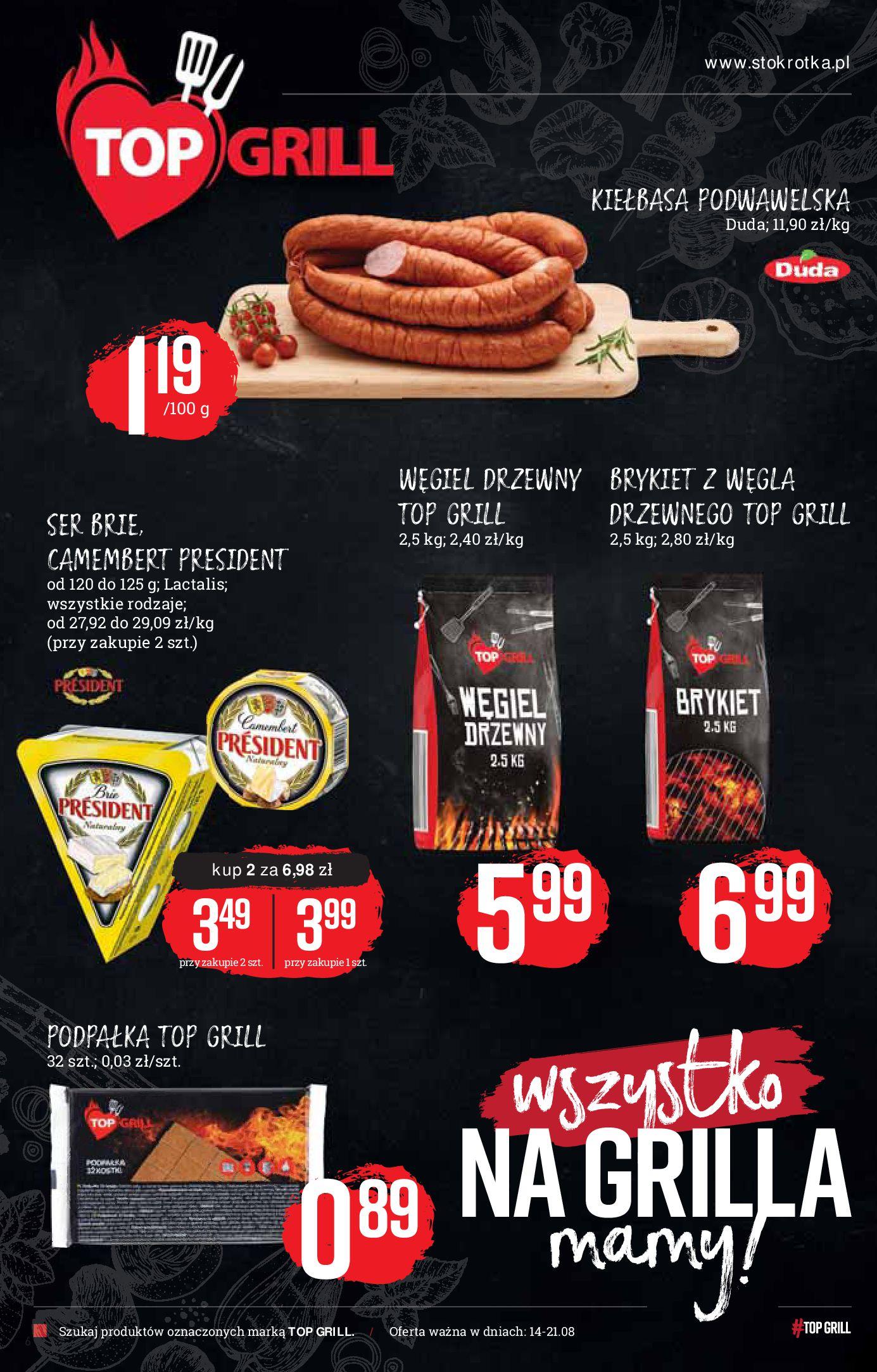 Gazetka Stokrotka Market - Gazetka market-13.08.2019-21.08.2019-page-6