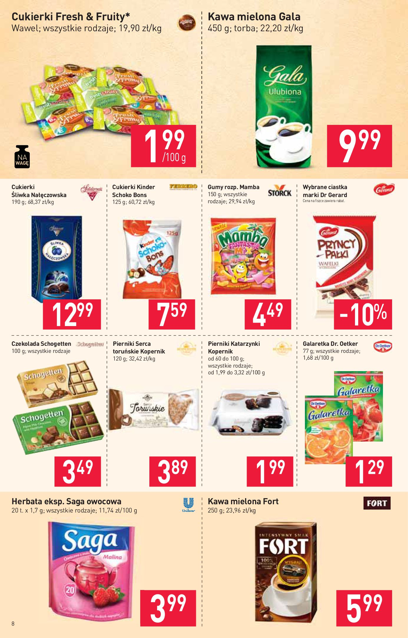 Gazetka Stokrotka Market - Gazetka market-13.08.2019-21.08.2019-page-8